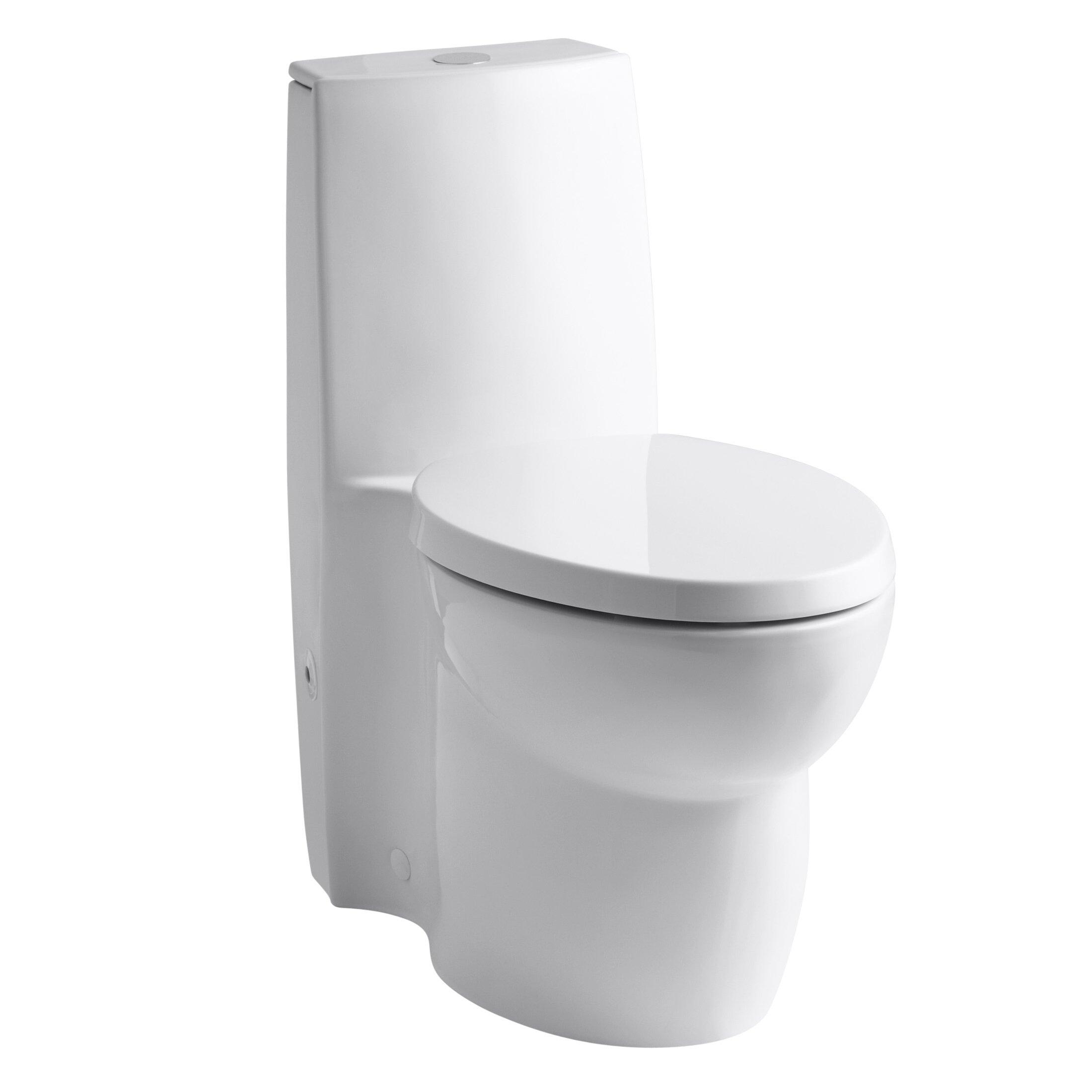 Kohler Saile Skirted One Piece Elongated Dual Flush Toilet