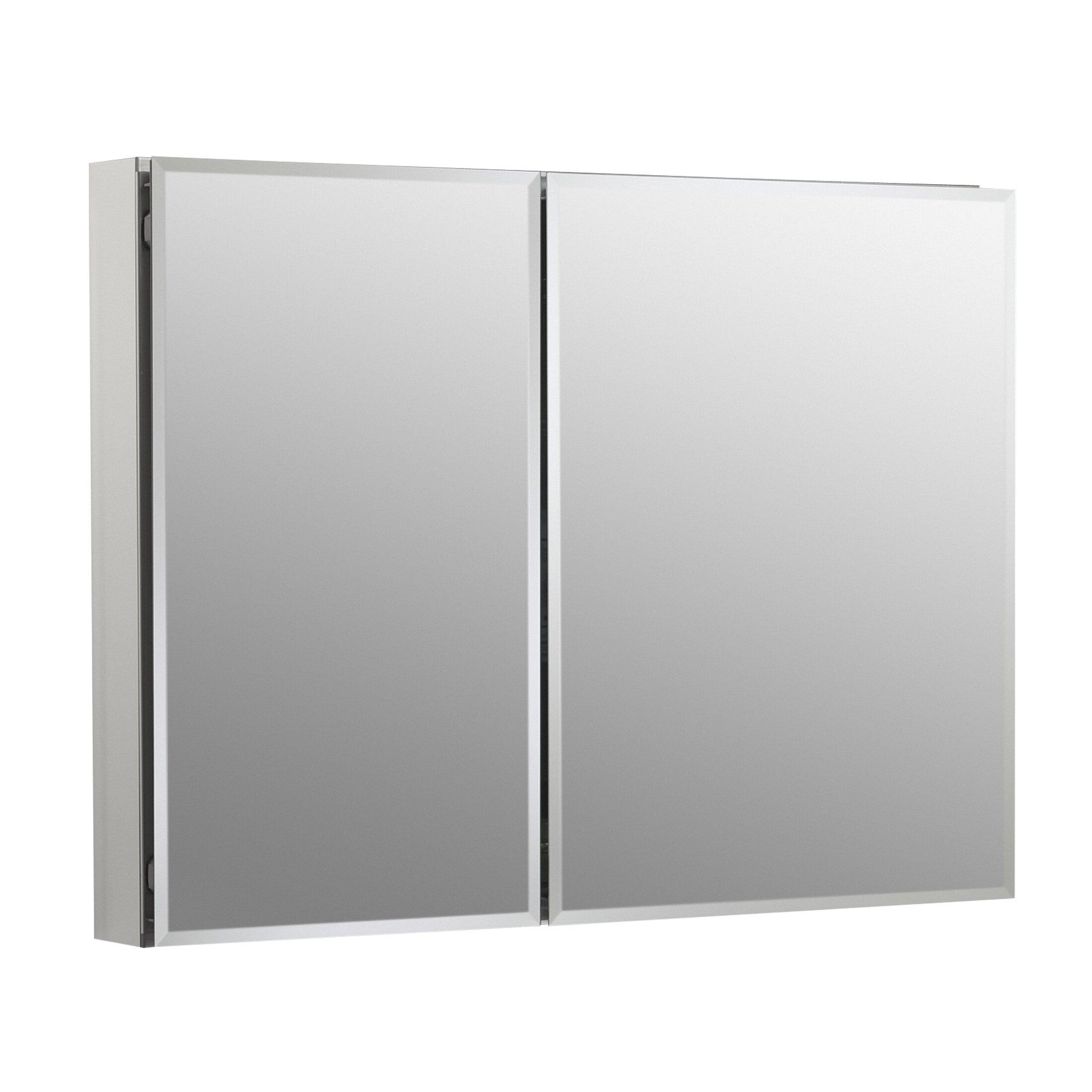 Kohler 35 Quot W X 26 Quot H Aluminum Two Door Medicine Cabinet