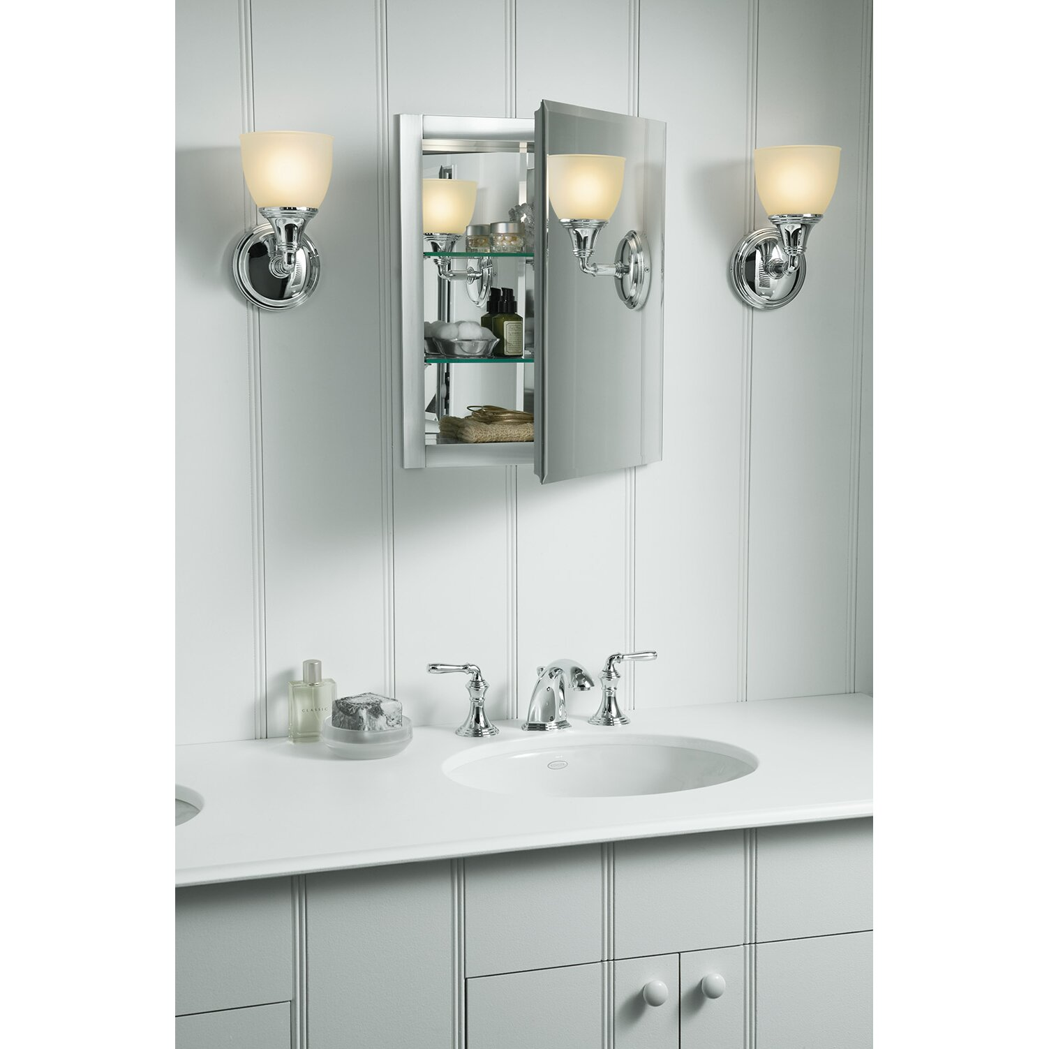 Kohler 16 X 20 Aluminum Mirrored Medicine Cabinet Reviews