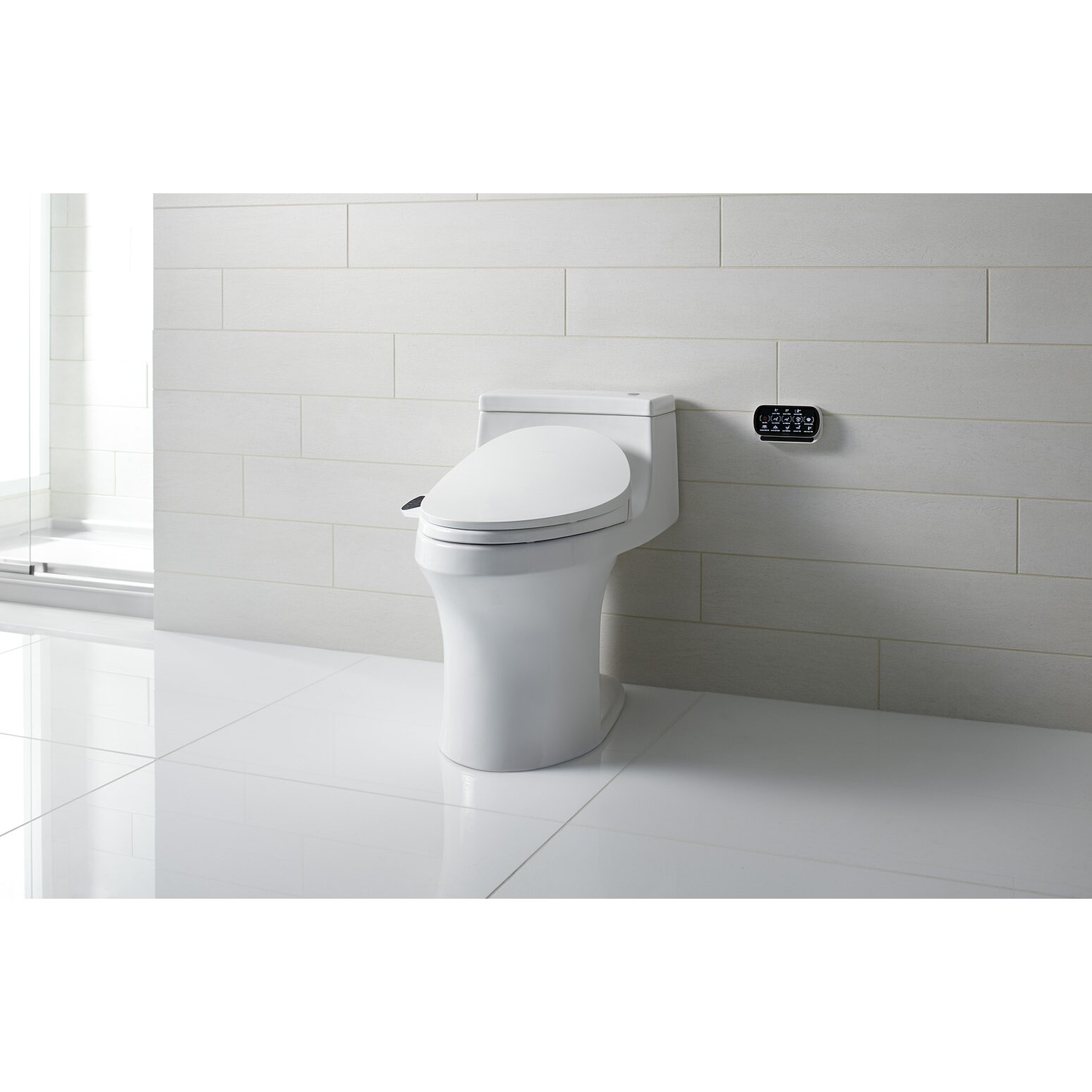 Kohler C3 230 Elongated Bidet Toilet Seat With In Line