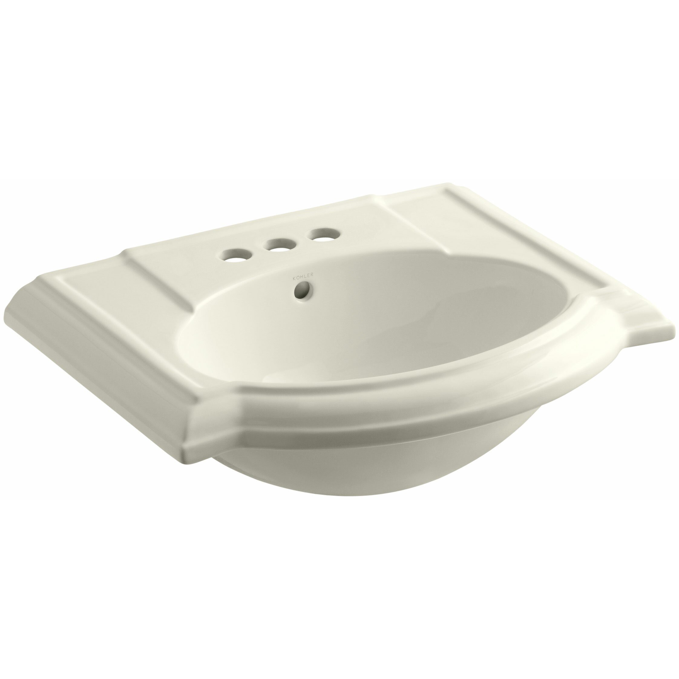Kohler Devonshire Bathroom Sink With 4 Centerset Faucet Holes Reviews