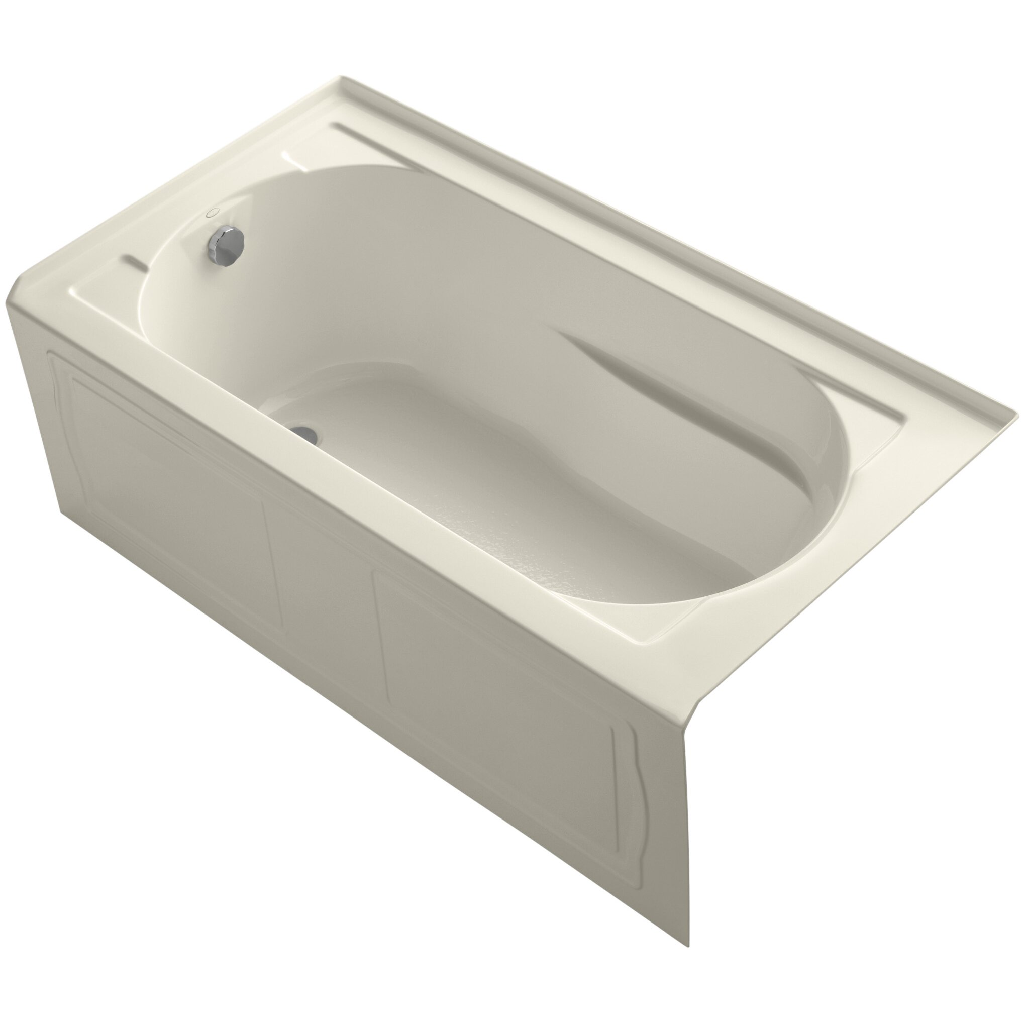 Kohler devonshire tub 60 x 32 soaking bathtub reviews wayfair - Kohler devonshire reviews ...
