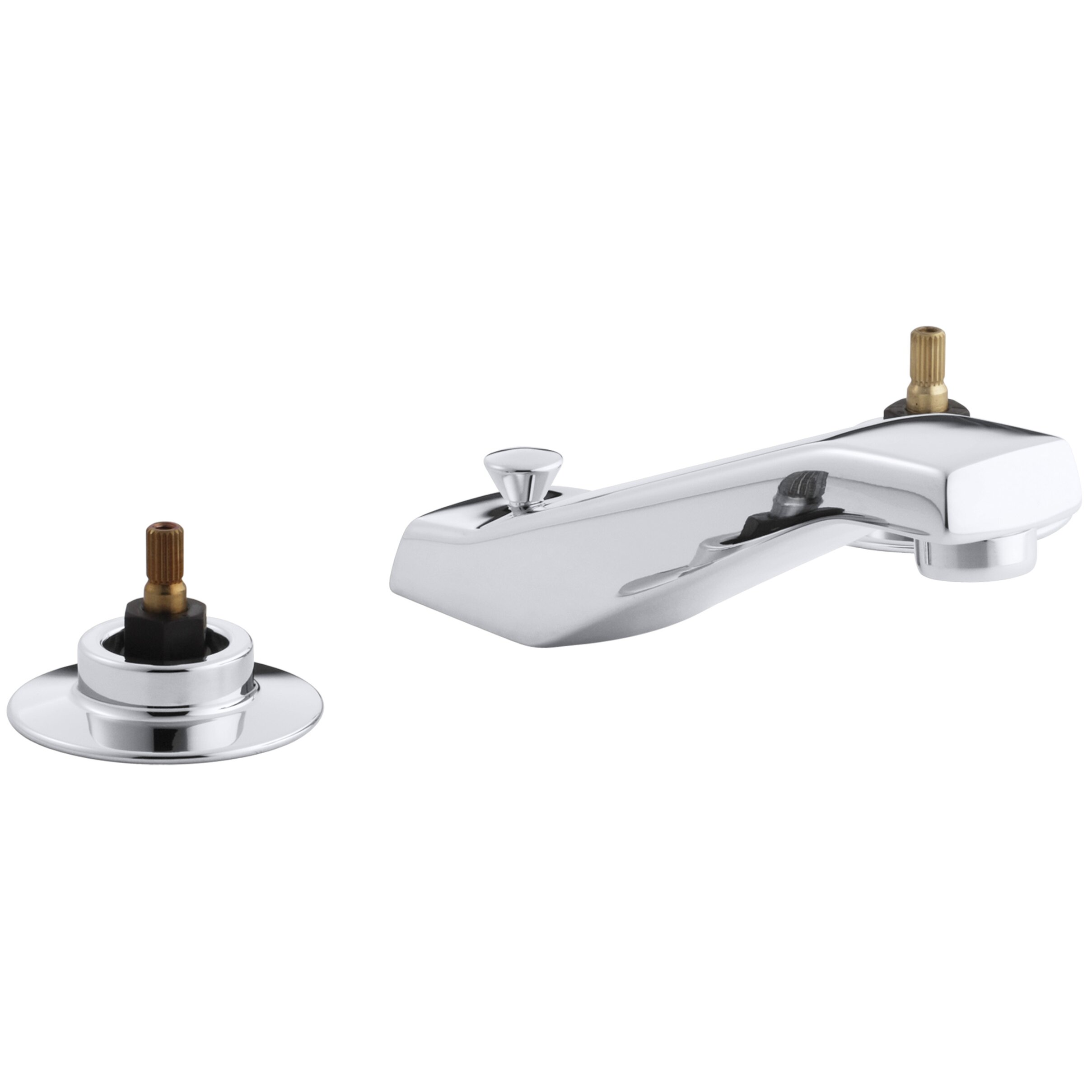 Kohler Triton Widespread Commercial Bathroom Sink Faucet with Standard ...