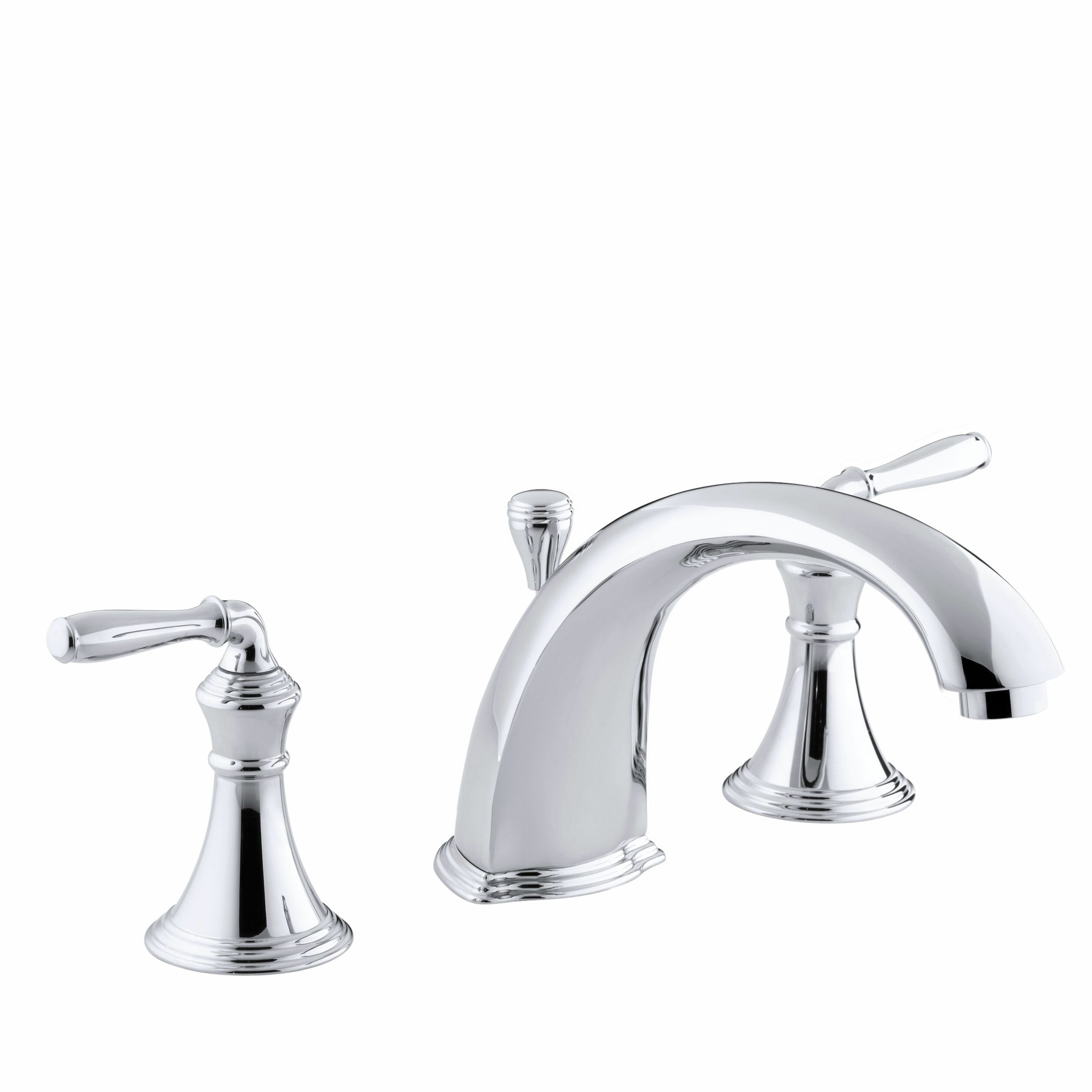 Kohler devonshire deck rim mount bath faucet trim for high flow valve with 8 15 16 diverter - Kohler devonshire reviews ...