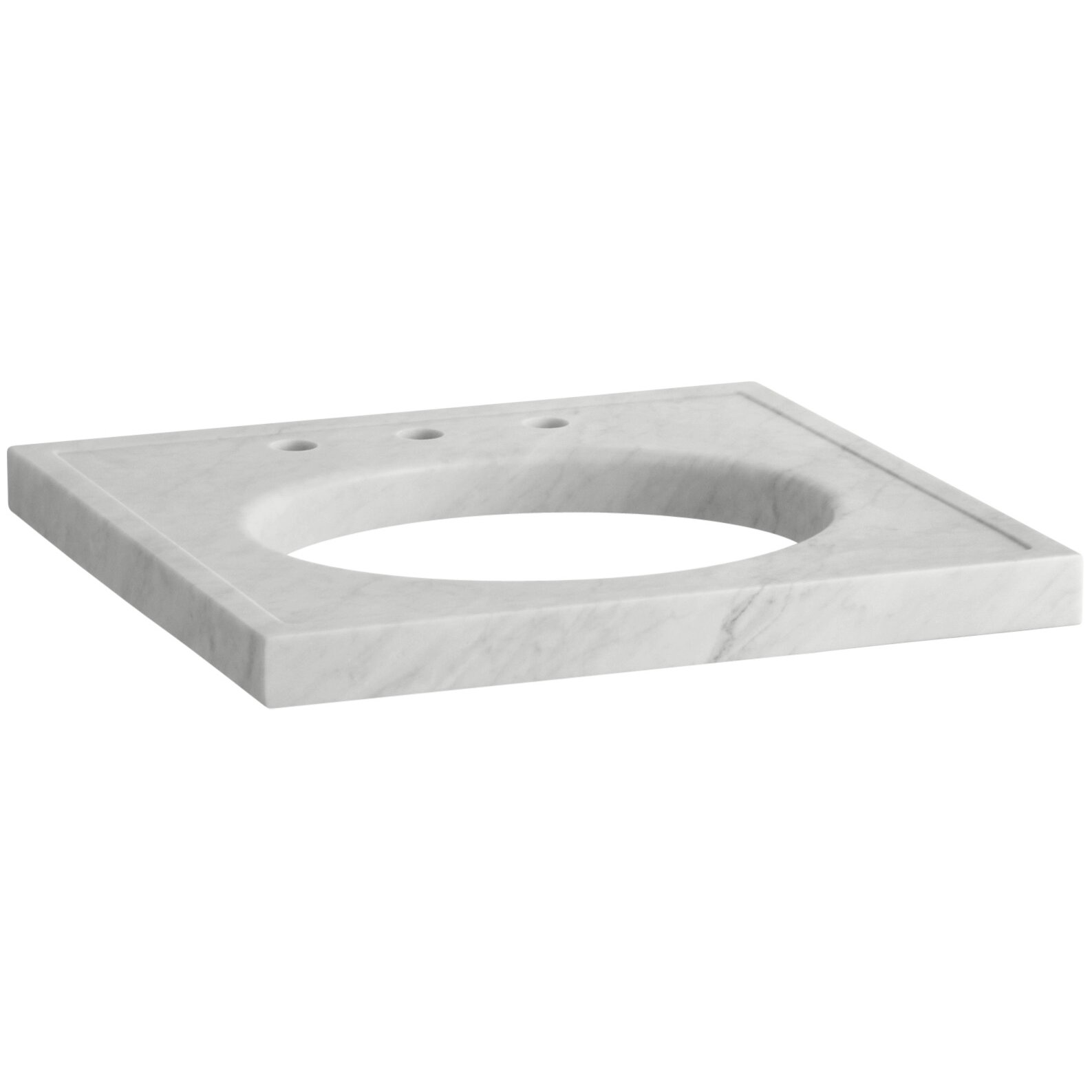 Kohler Kathryn Marble Console Tabletop With Widespread