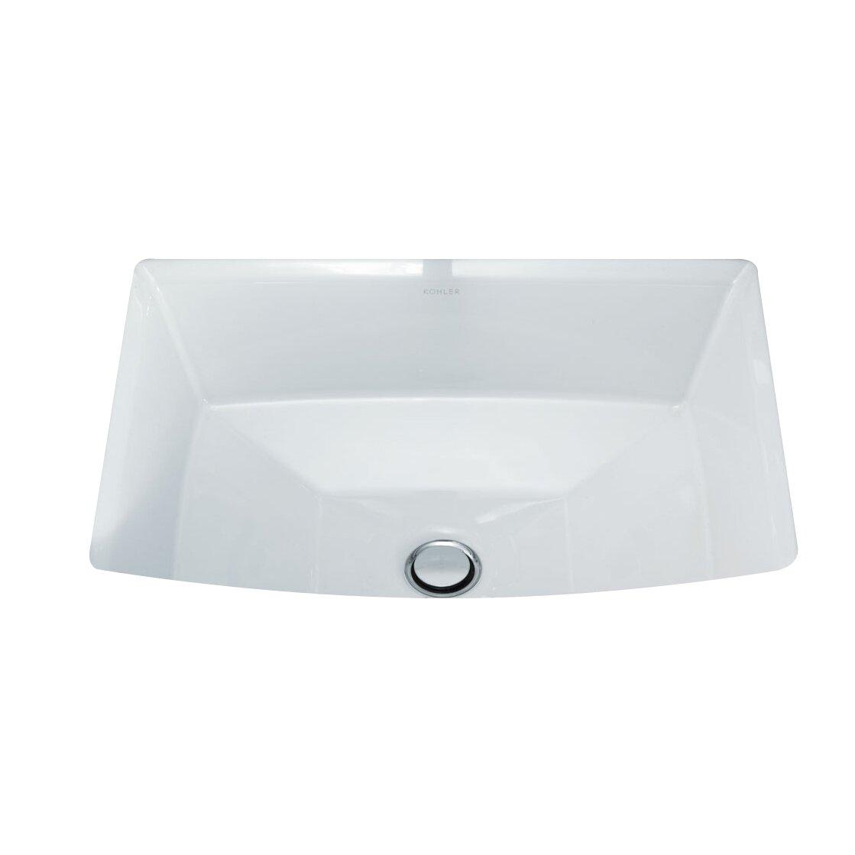 Kohler Archer Undermount Bathroom Sink Reviews Wayfair
