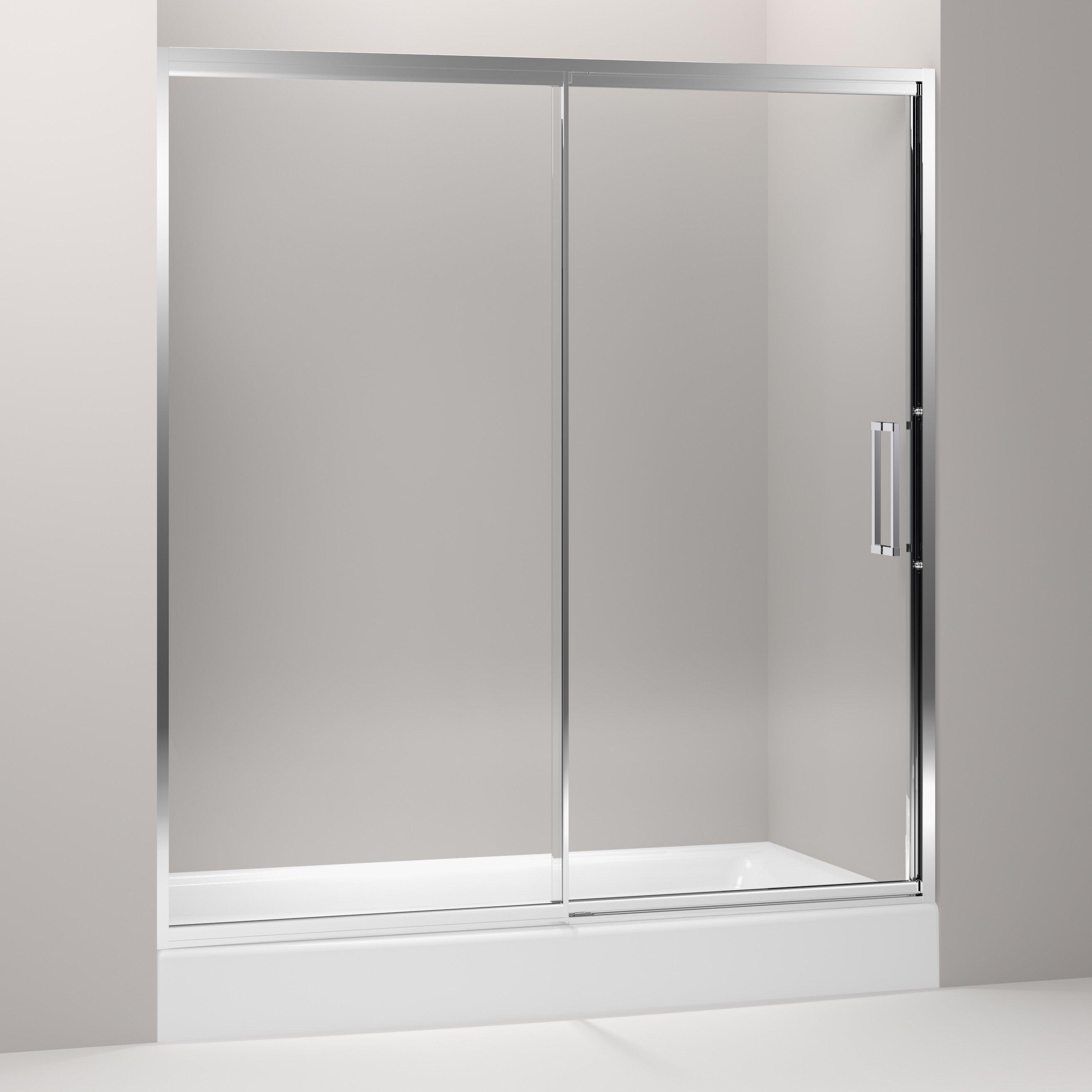 Kohler Lattis 72 X 76 Pivot Shower Door Wayfair
