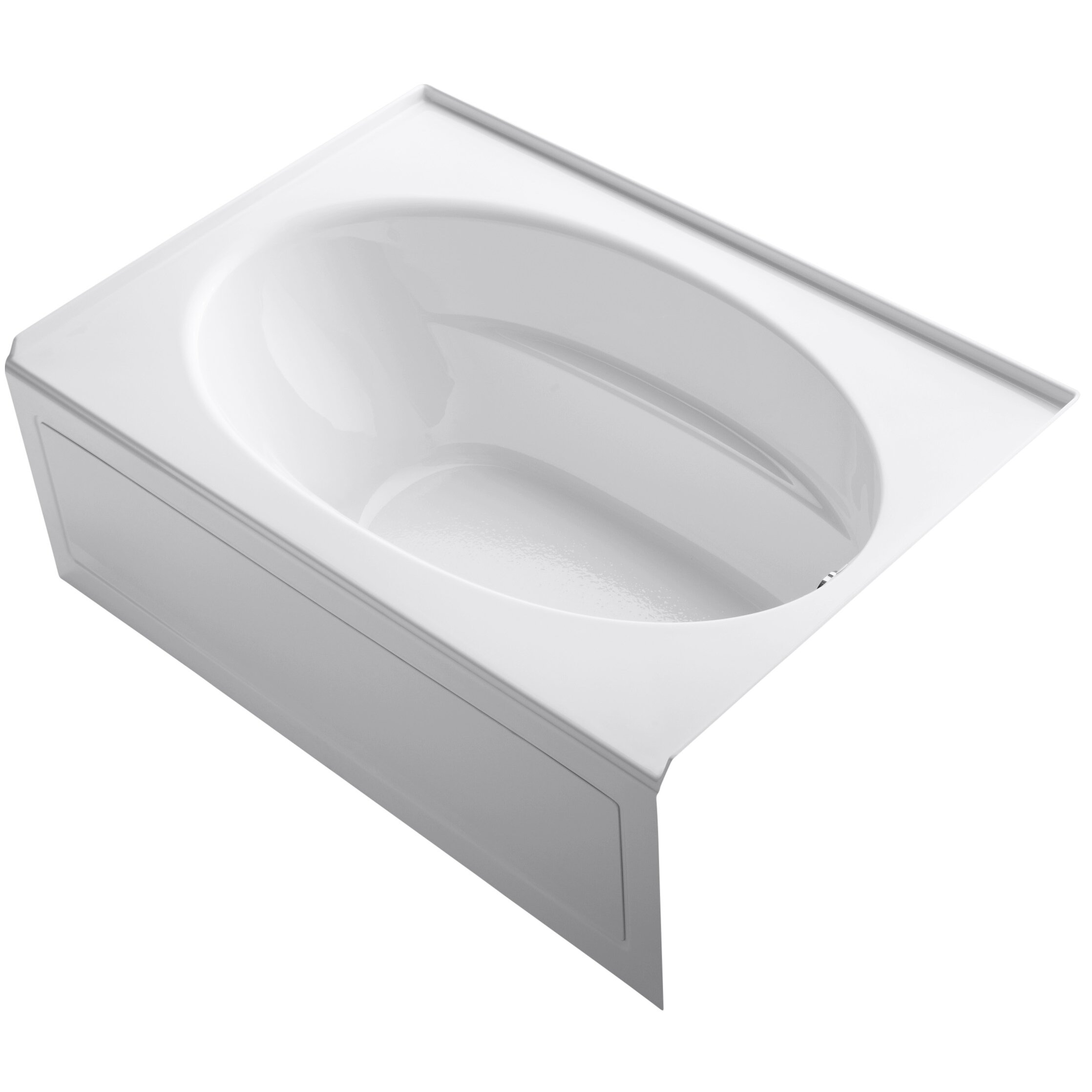 kohler windward 60 x 42 soaking bathtub reviews wayfair