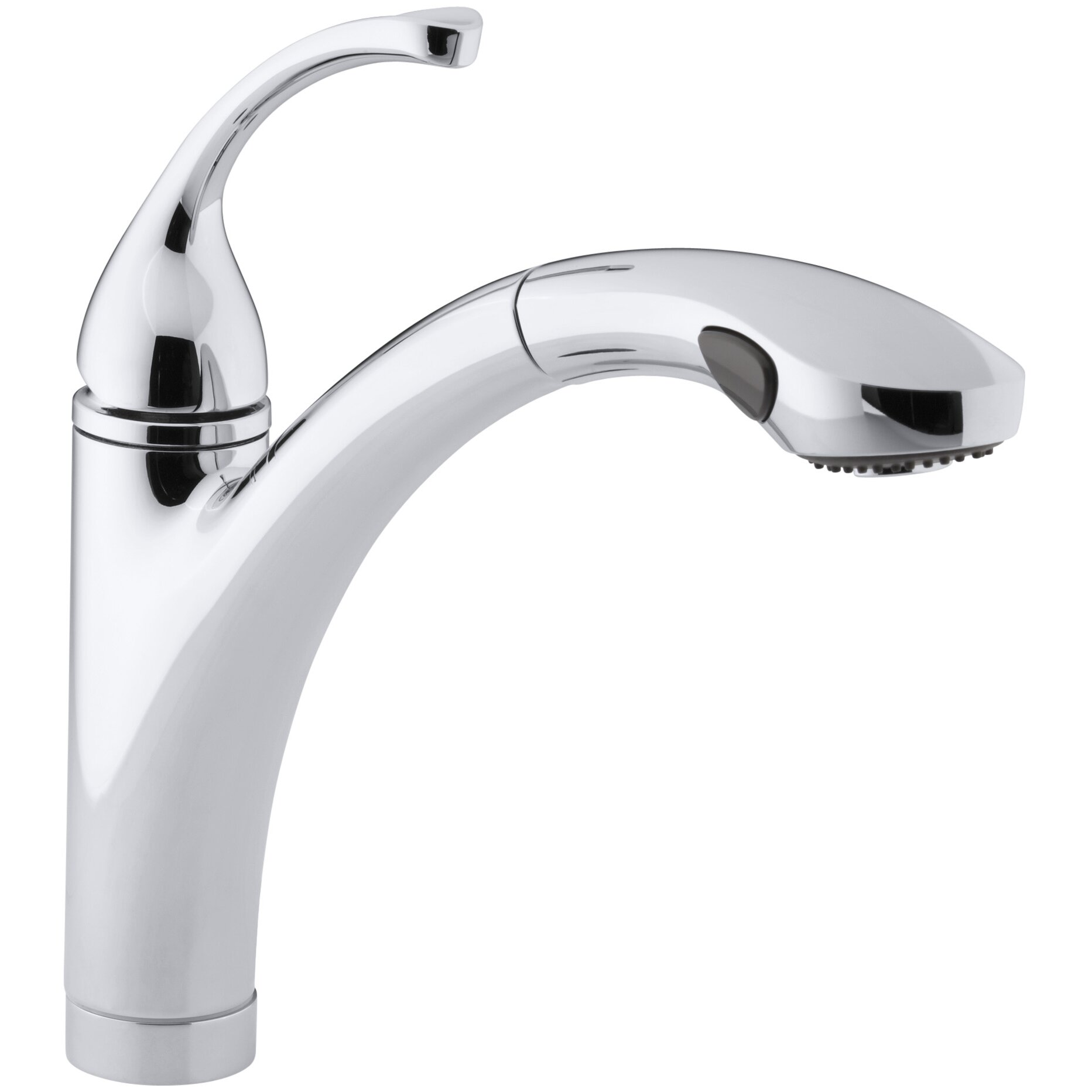 Kohler Fort? Single-Hole or 3-Hole Kitchen Sink Faucet with 10-1/8 ...