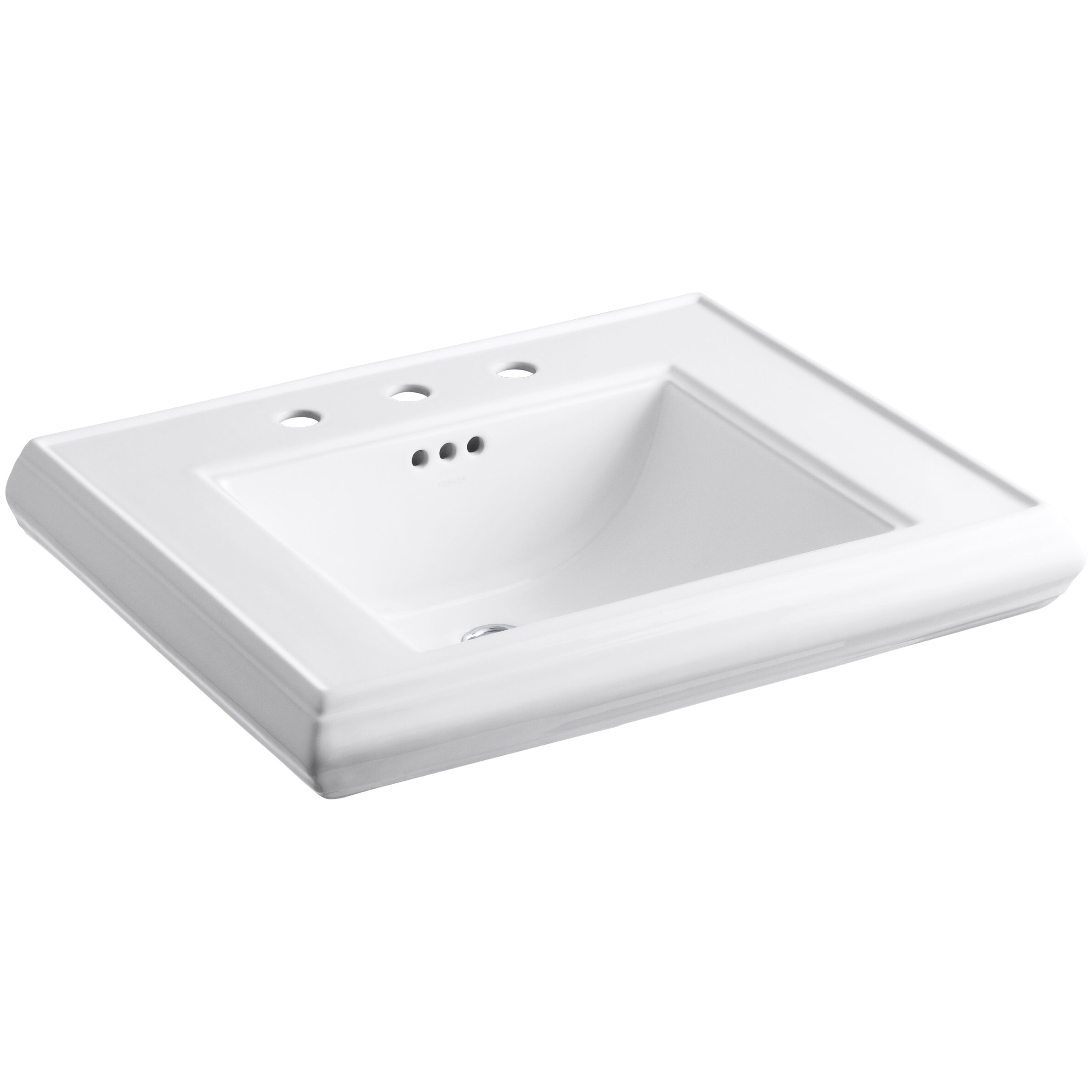 Kohler Memoirs Pedestal Bathroom Sink Basin & Reviews Wayfair