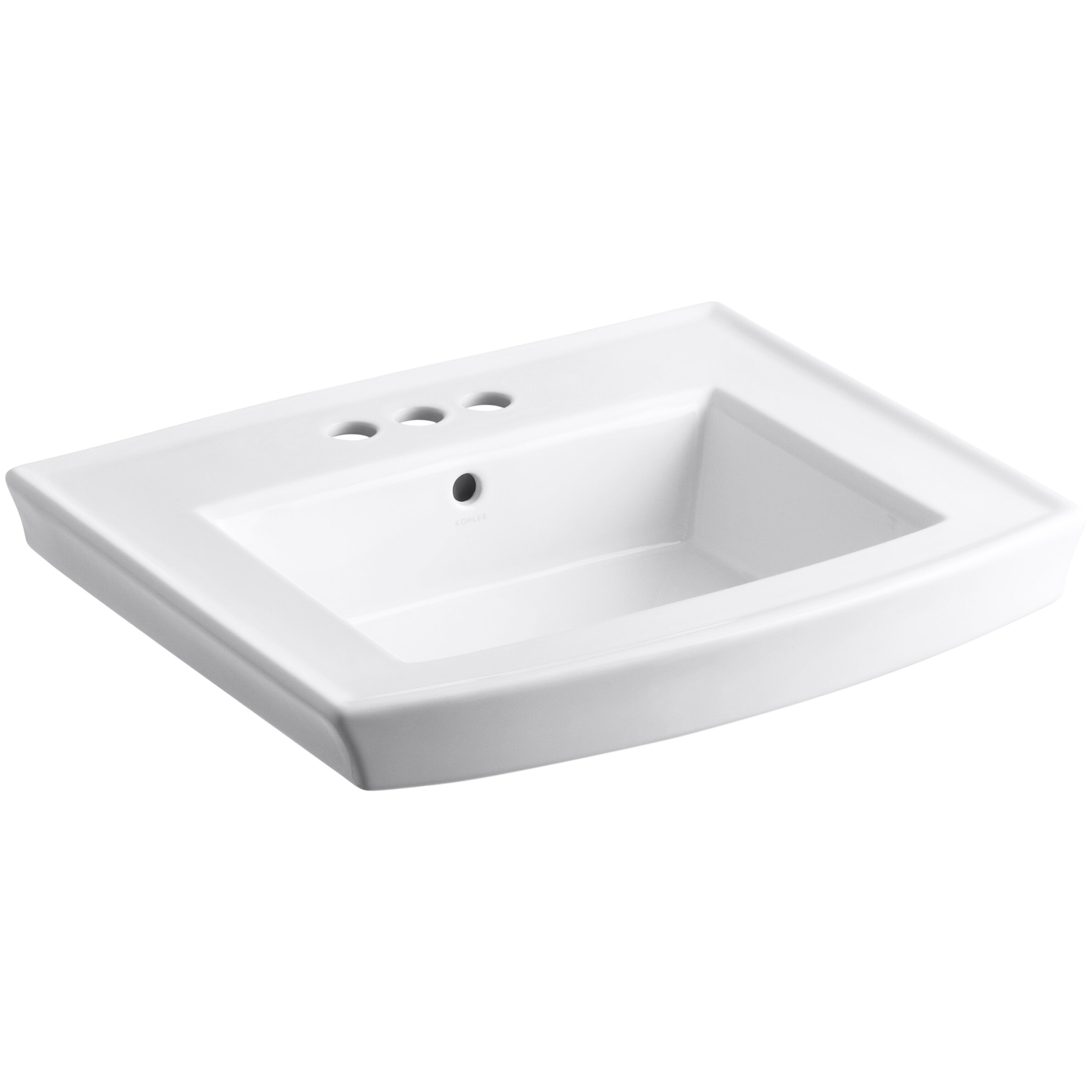 Kohler Pedestal : Kohler Archer Pedestal Bathroom Sink & Reviews Wayfair
