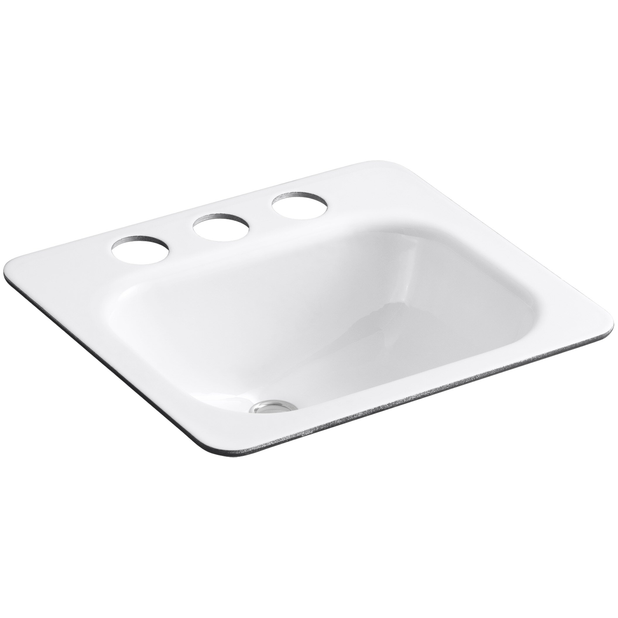 undermount bathroom sink with faucet holes kohler tahoe undermount bathroom sink with oversize 8 25816