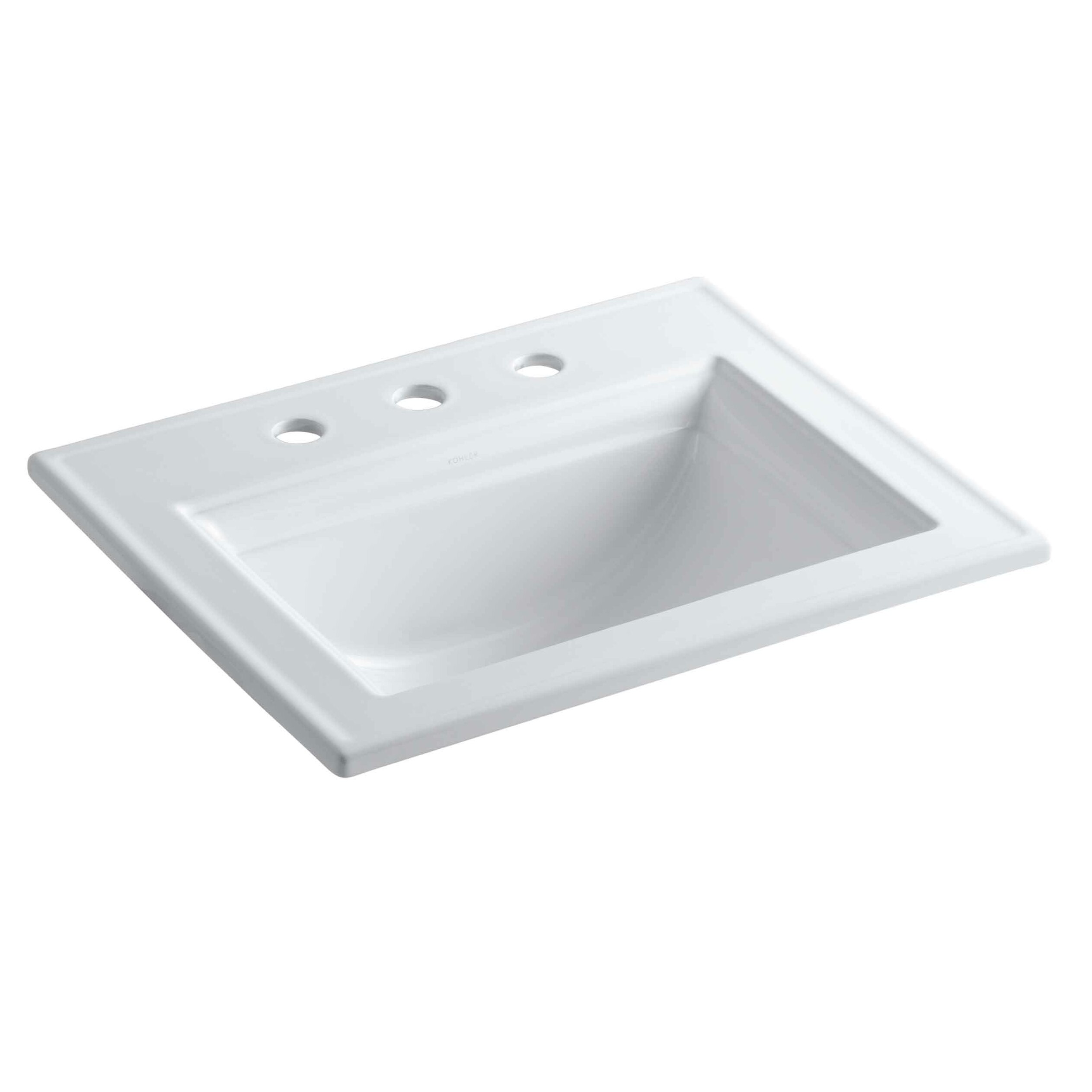 Memoirs: Kohler Memoirs Stately Drop-In Bathroom Sink With 8