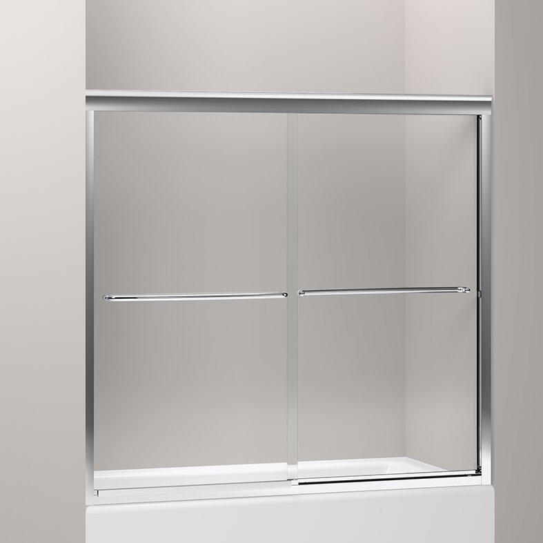 Kohler fluence x bypass bath door reviews for Door 55 reviews