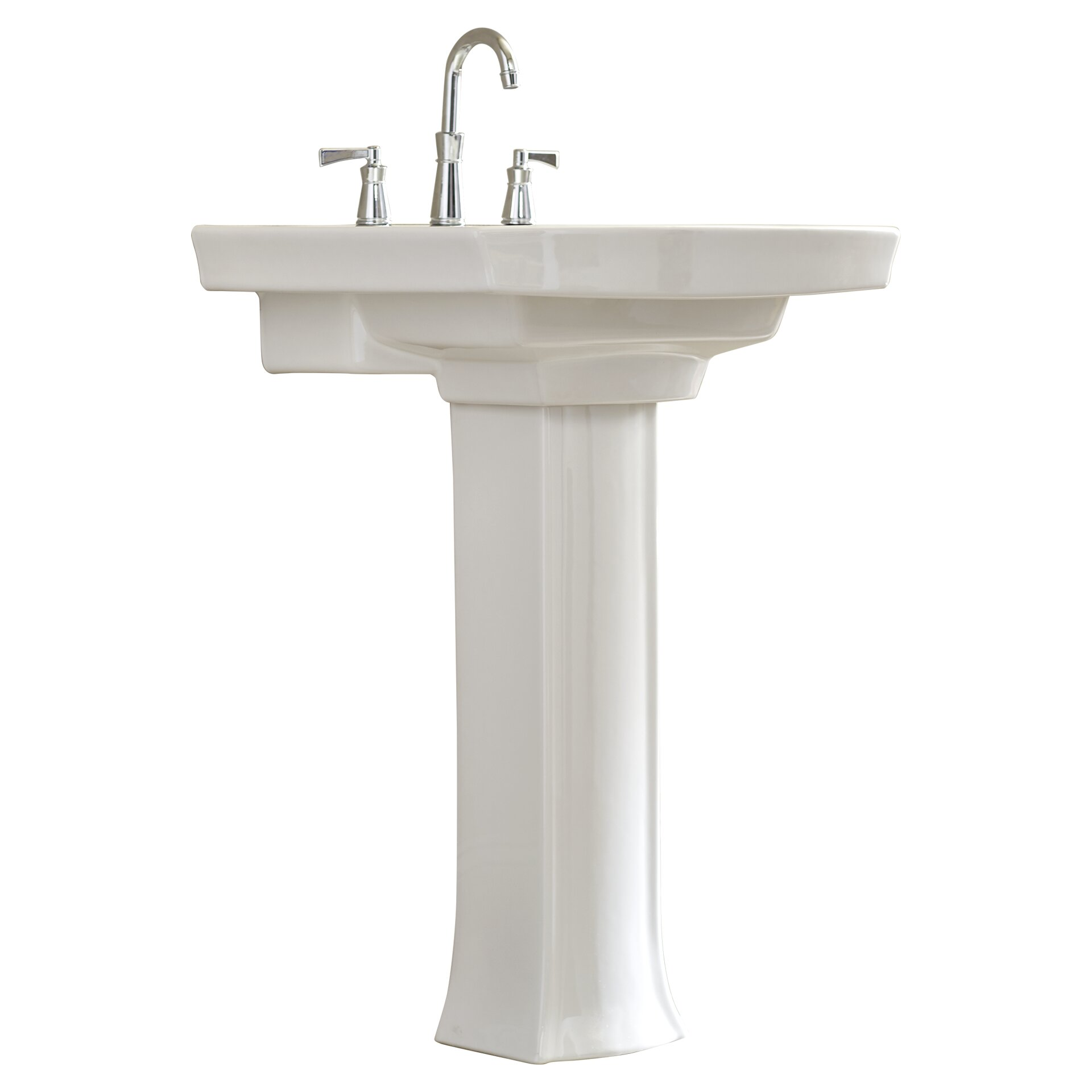 Kohler Kohler Archer Pedestal Sink Amp Reviews Wayfair