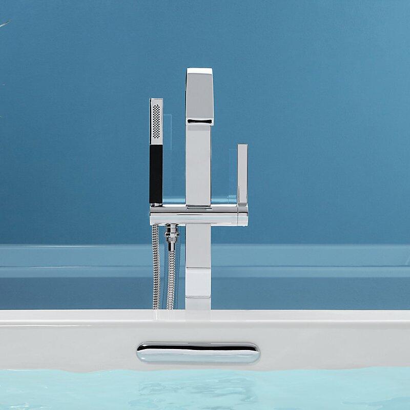 Kohler Loure Floor Mount Bath Filler With Hand Shower