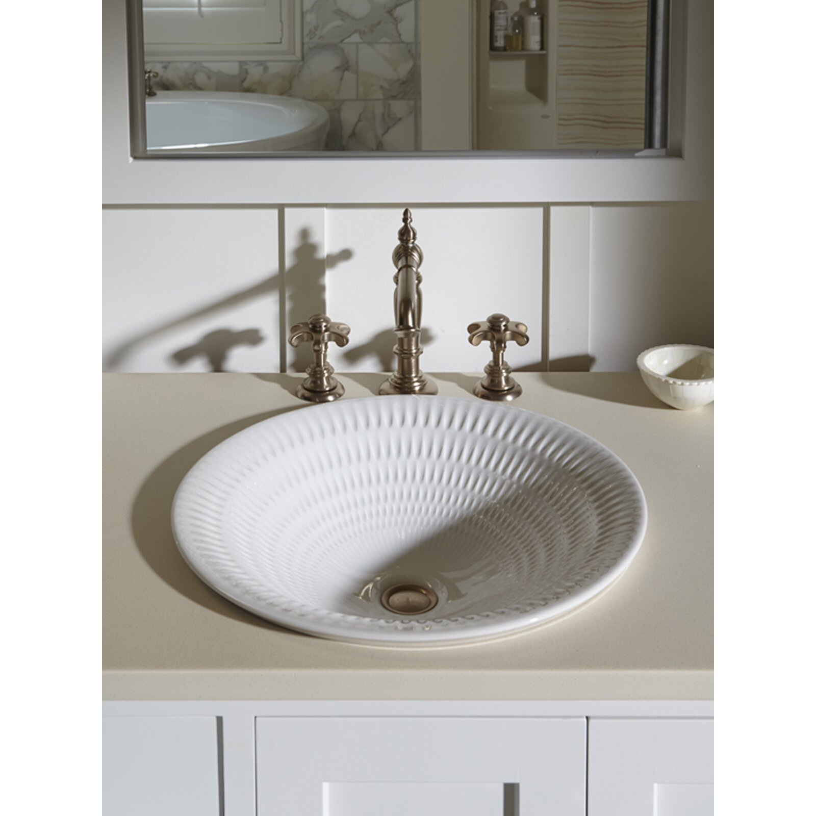 Kohler Derring Carillon Wading Vessel Bathroom Sink