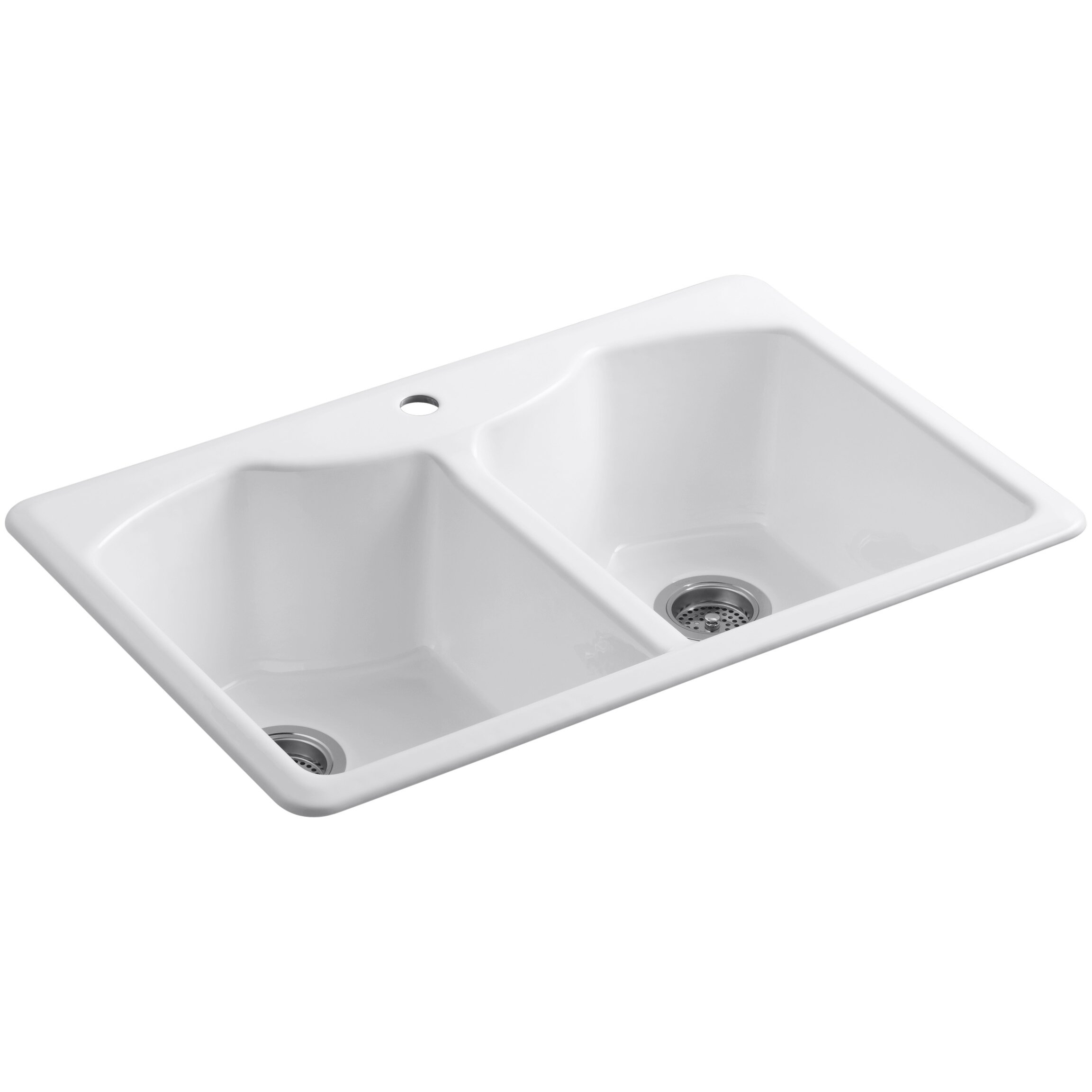 "Kohler Bellegrove 33"" X 22"" X 9-5/8"" Top-Mount Double"
