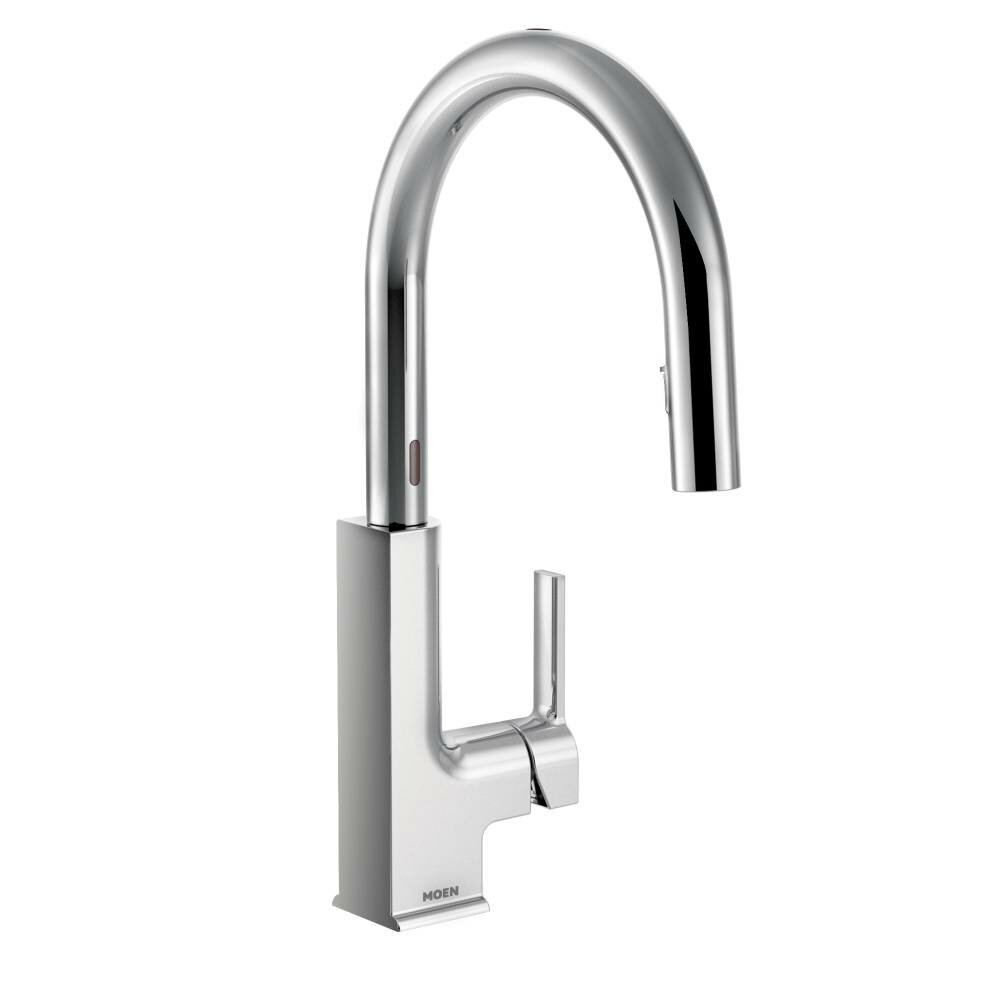Moen STo Single Handle Pull Down Standard Kitchen Faucet