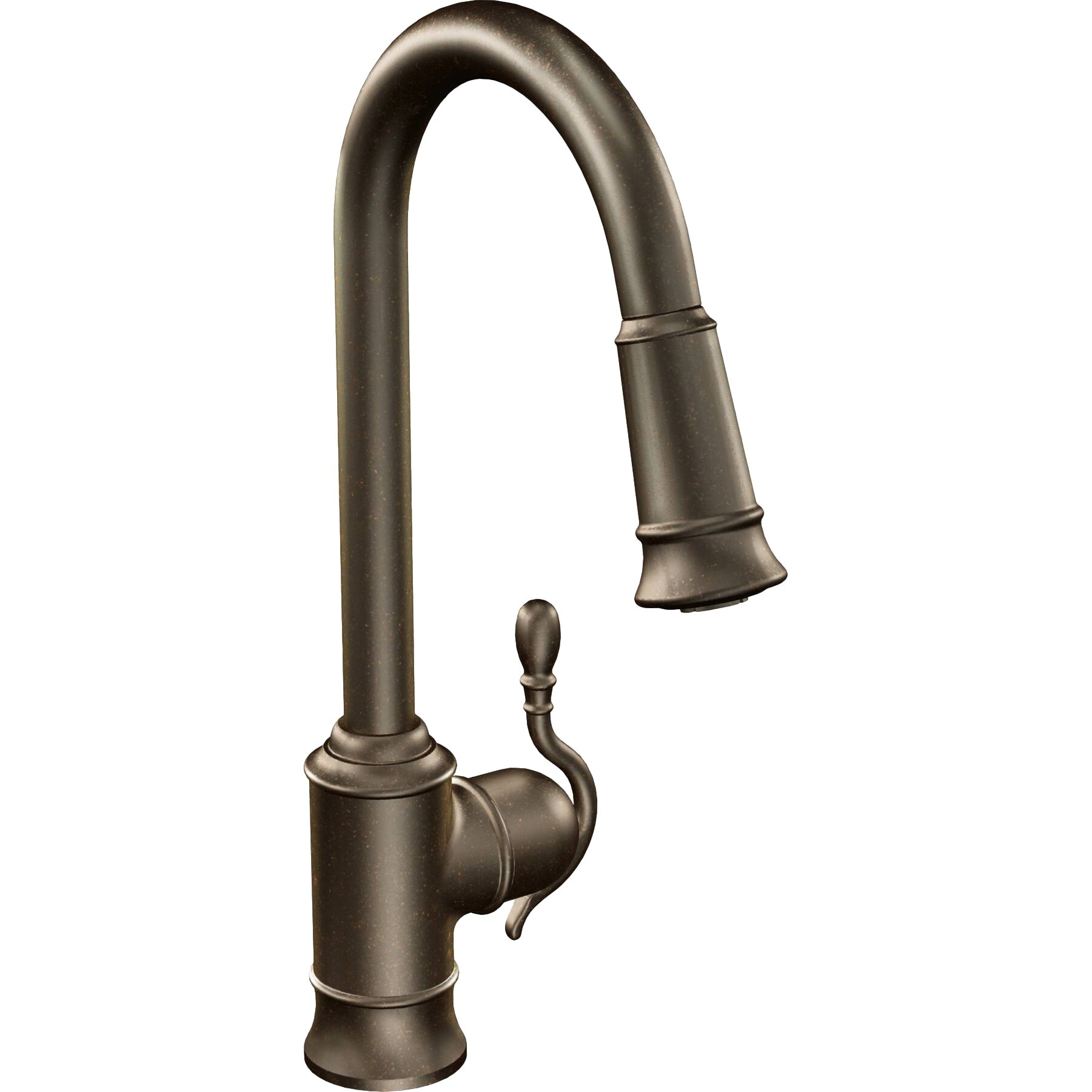 Single Hole Pulldown Kitchen Faucet