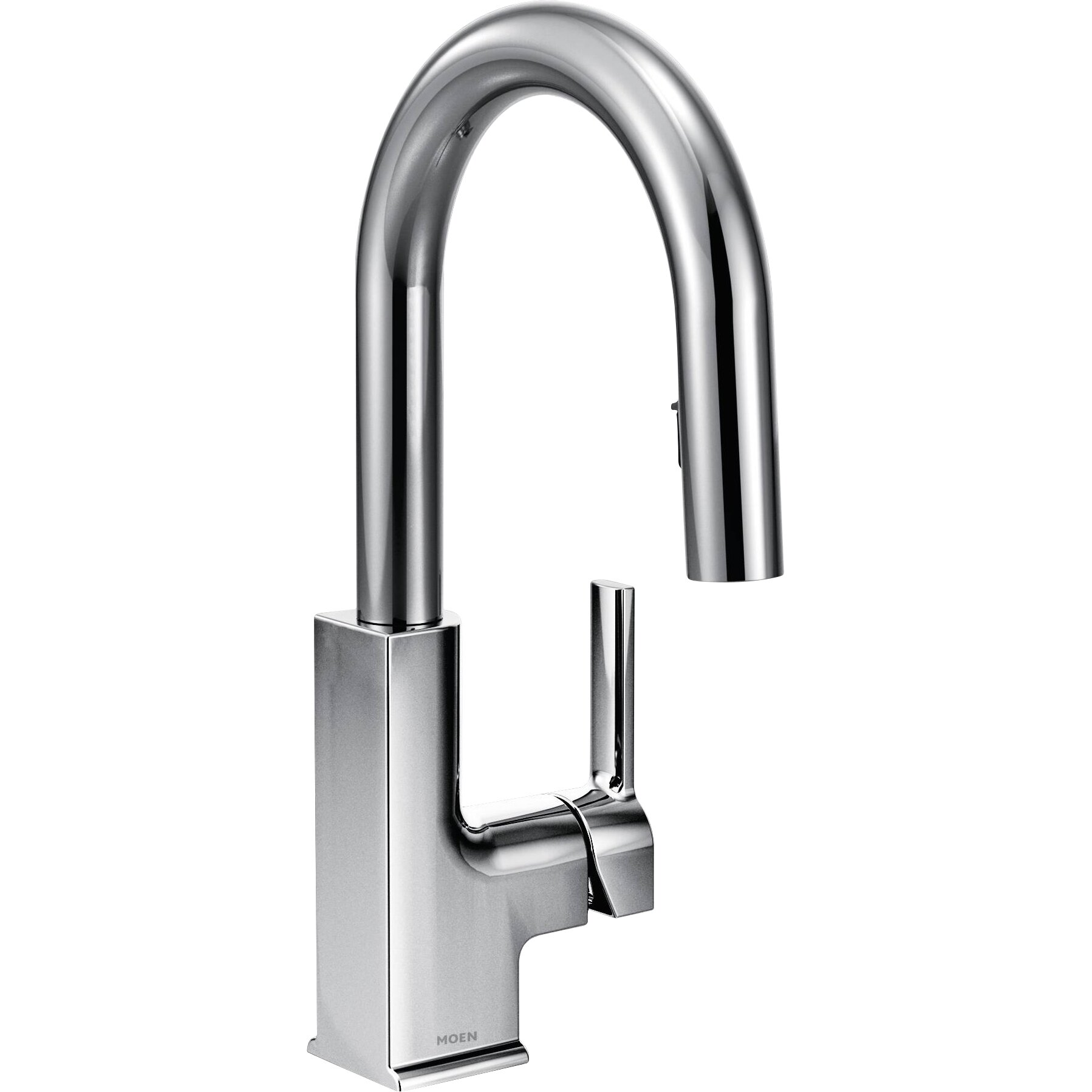Moen STo Single Handle Deck mounted Kitchen Faucet