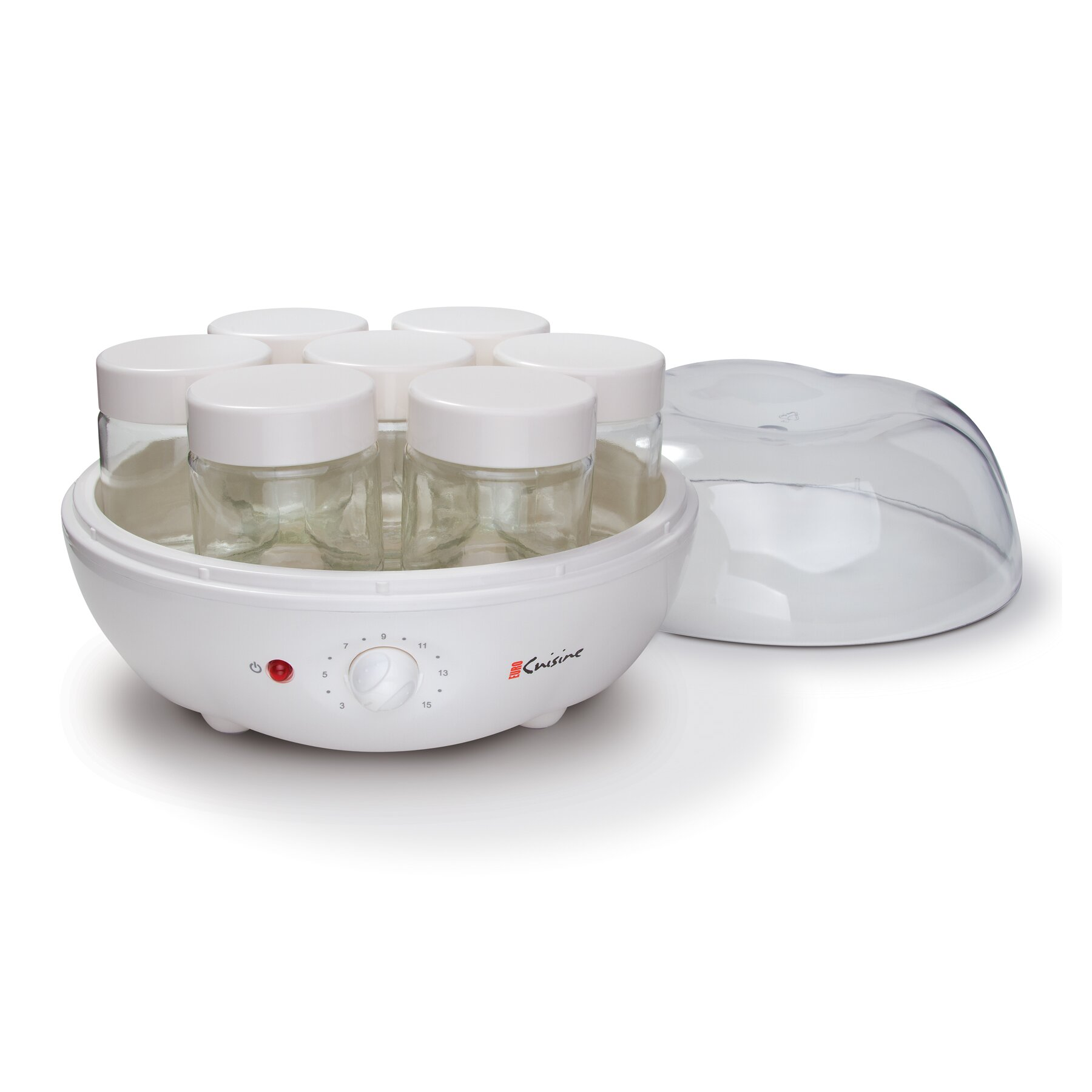 Euro cuisine automatic yogurt maker reviews wayfair for Automatic yogurt maker by euro cuisine