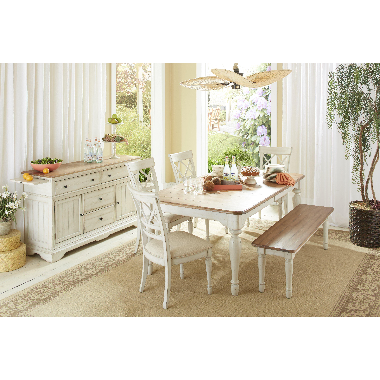 Cresent Furniture Cottage 6 Piece Dining Set Reviews