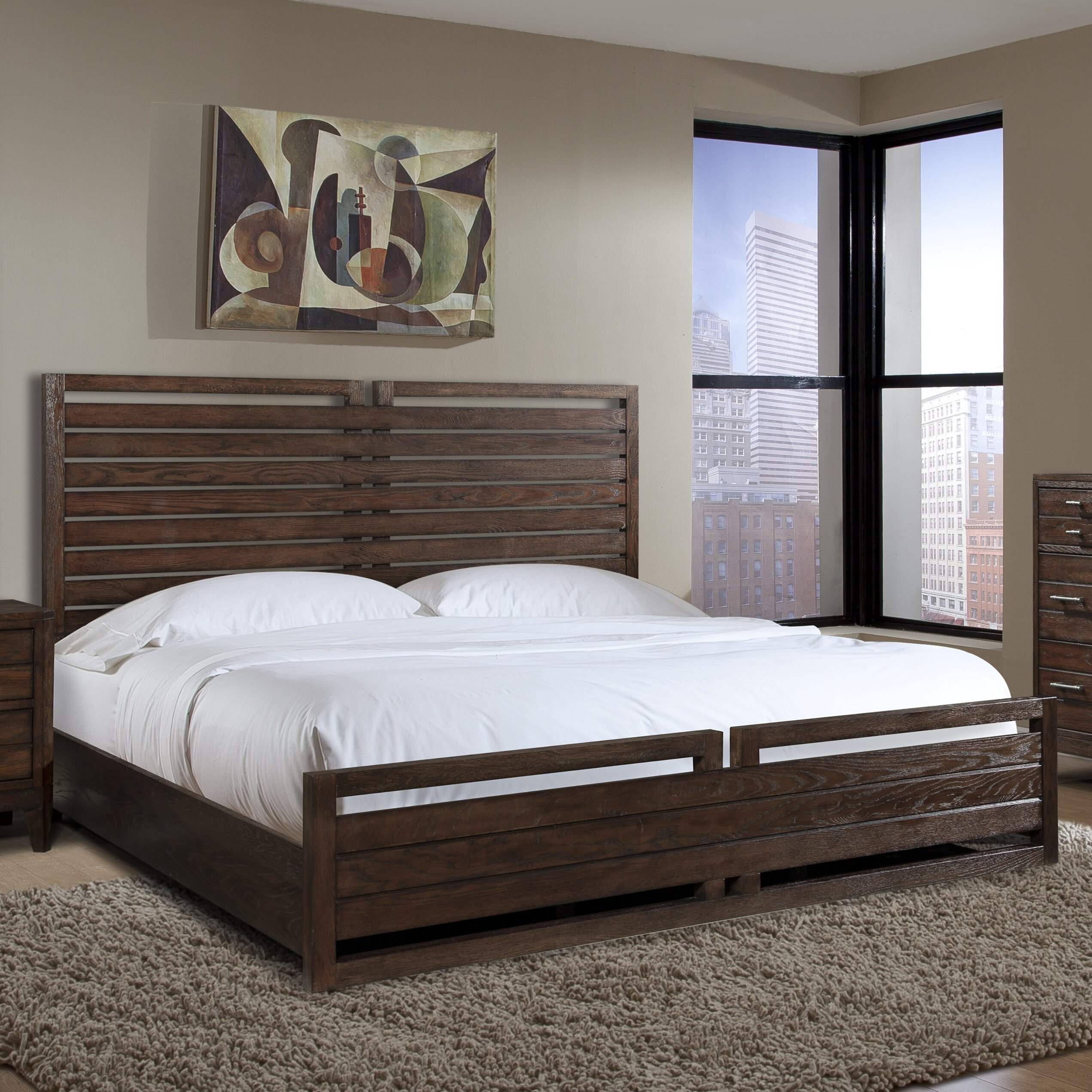 Cresent Furniture Hampton Panel Customizable Bedroom Set Reviews Wayfair