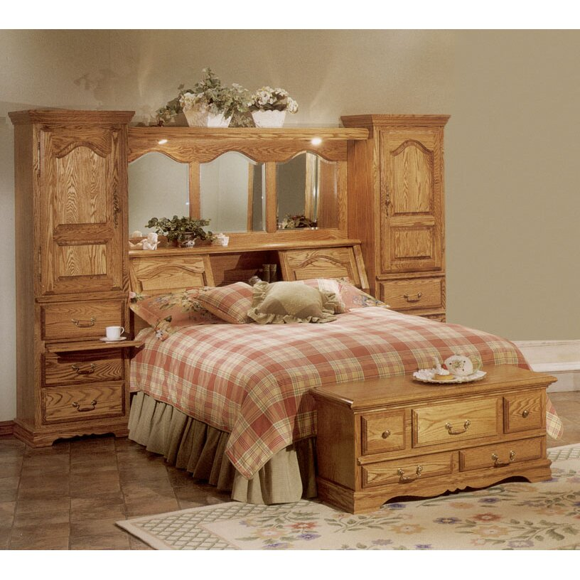 bebe furniture country heirloom bookcase headboard
