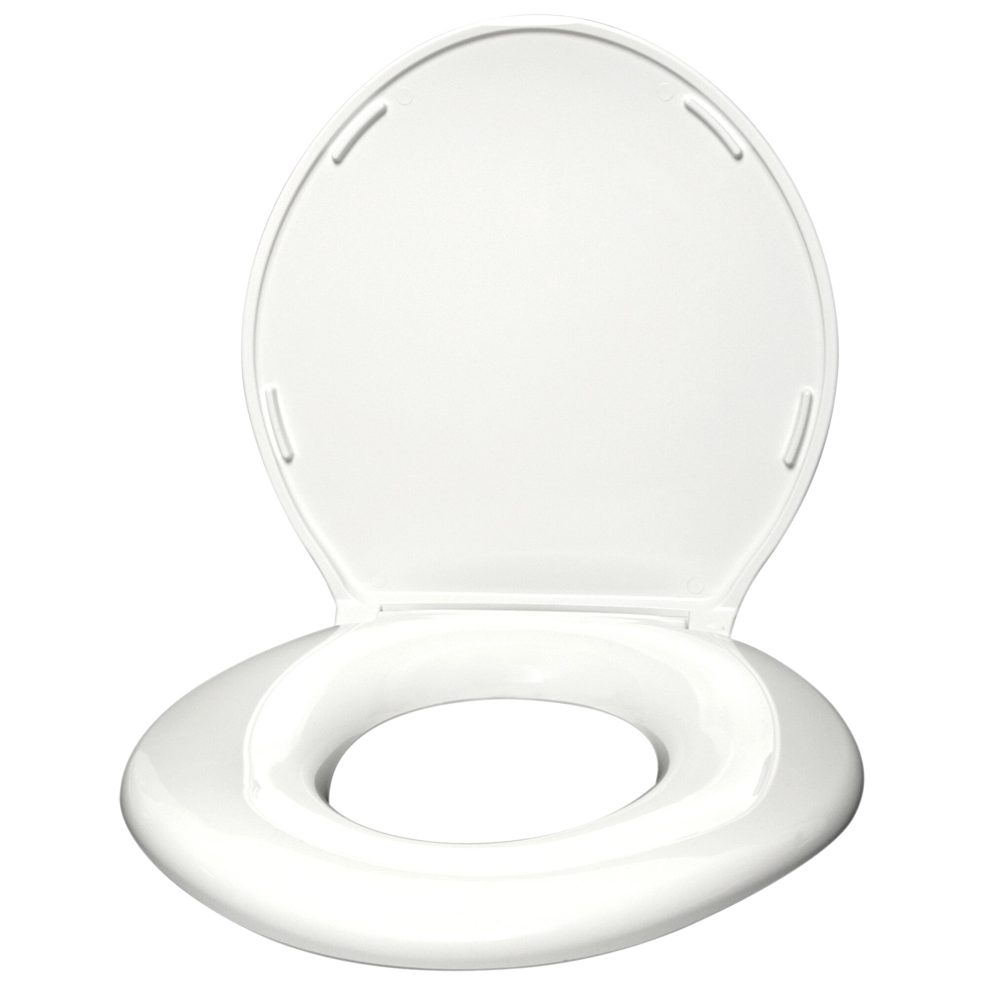 Big John Standard Closed Front Raised Toilet Seat With Cover Reviews