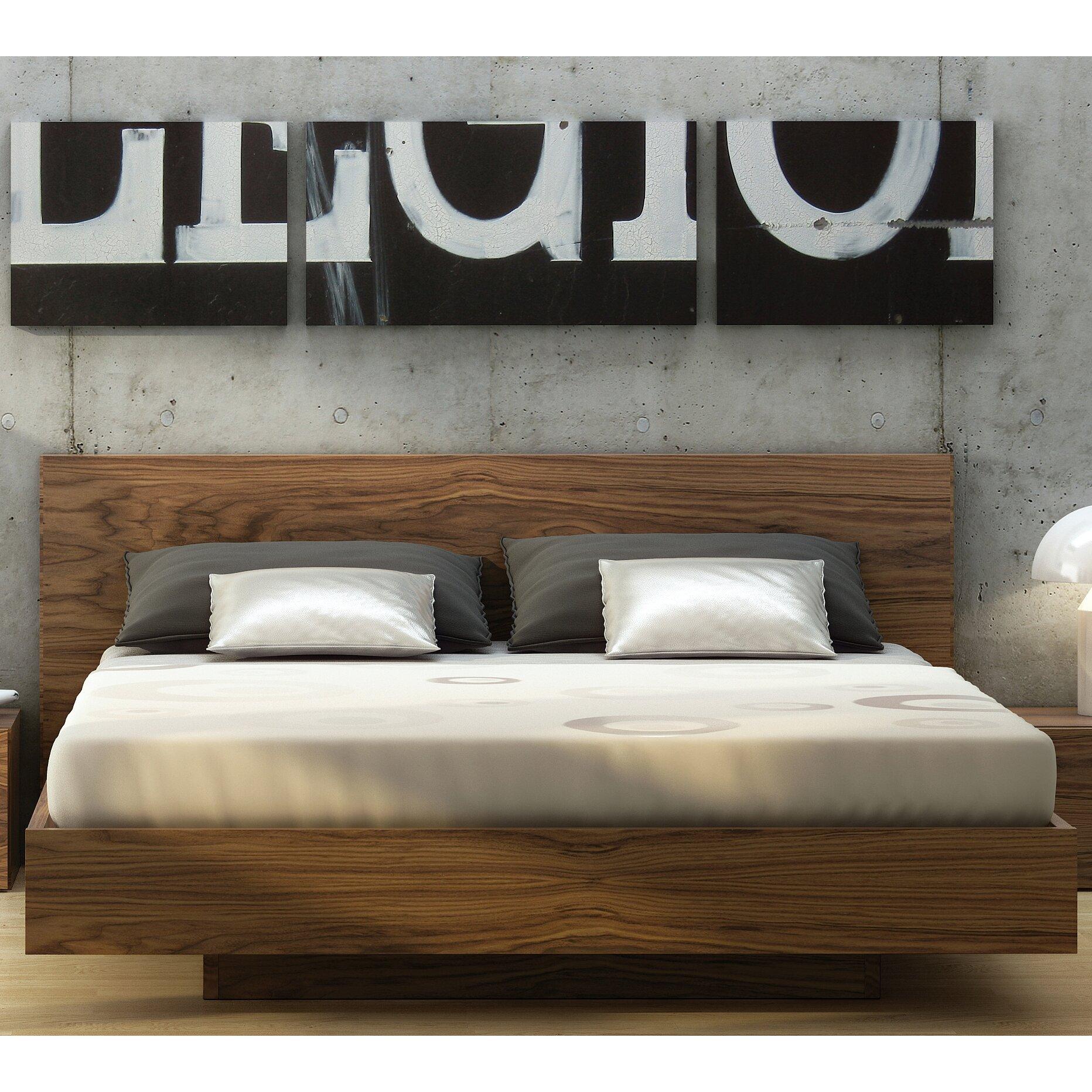 Tema Platform Bed With Storage King Size