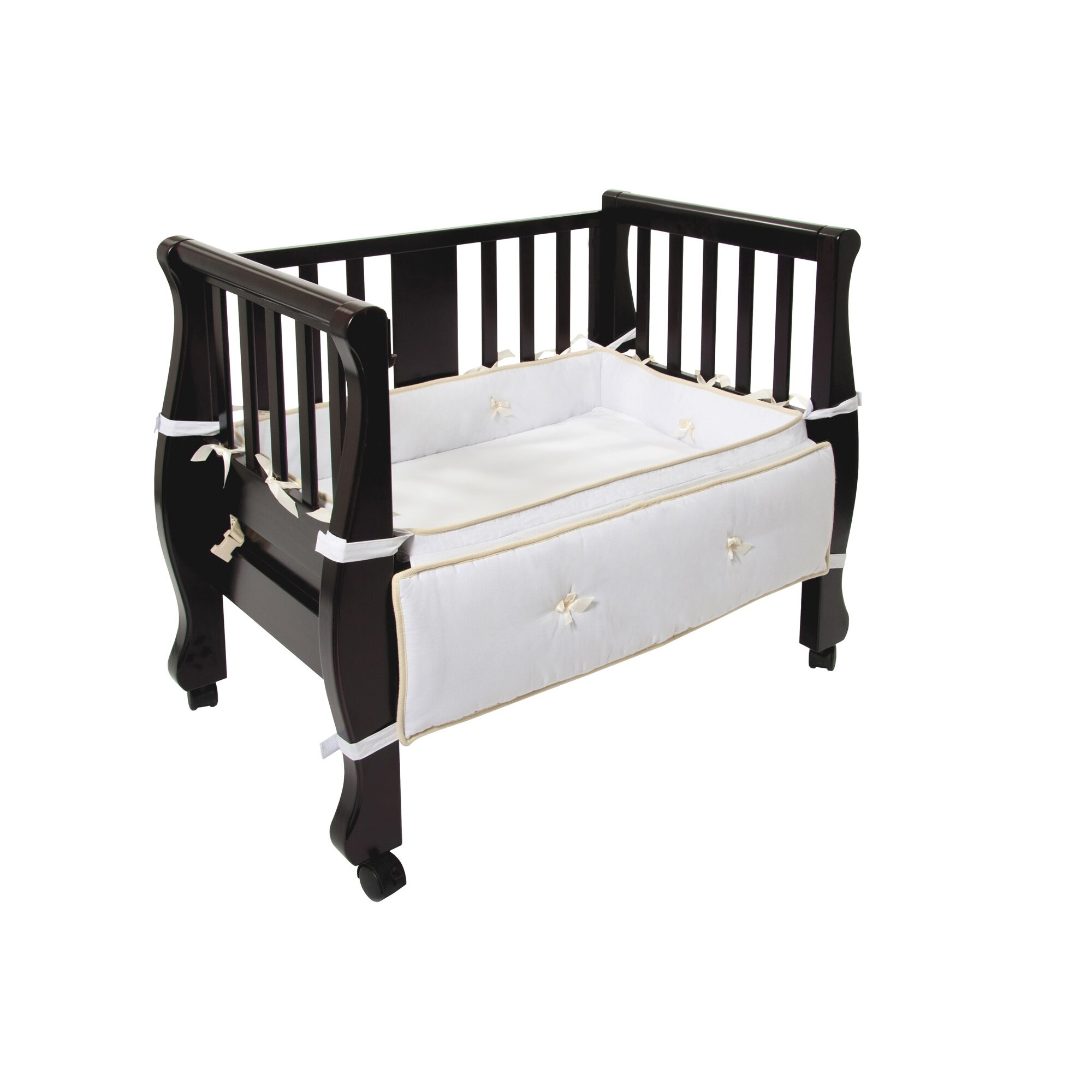 Arms Reach Sleigh Bed Co Sleeper Bassinet amp Reviews Wayfair : Arms Reach Sleigh Bed Co Sleeper Bassinet from www.wayfair.com size 2000 x 2000 jpeg 233kB
