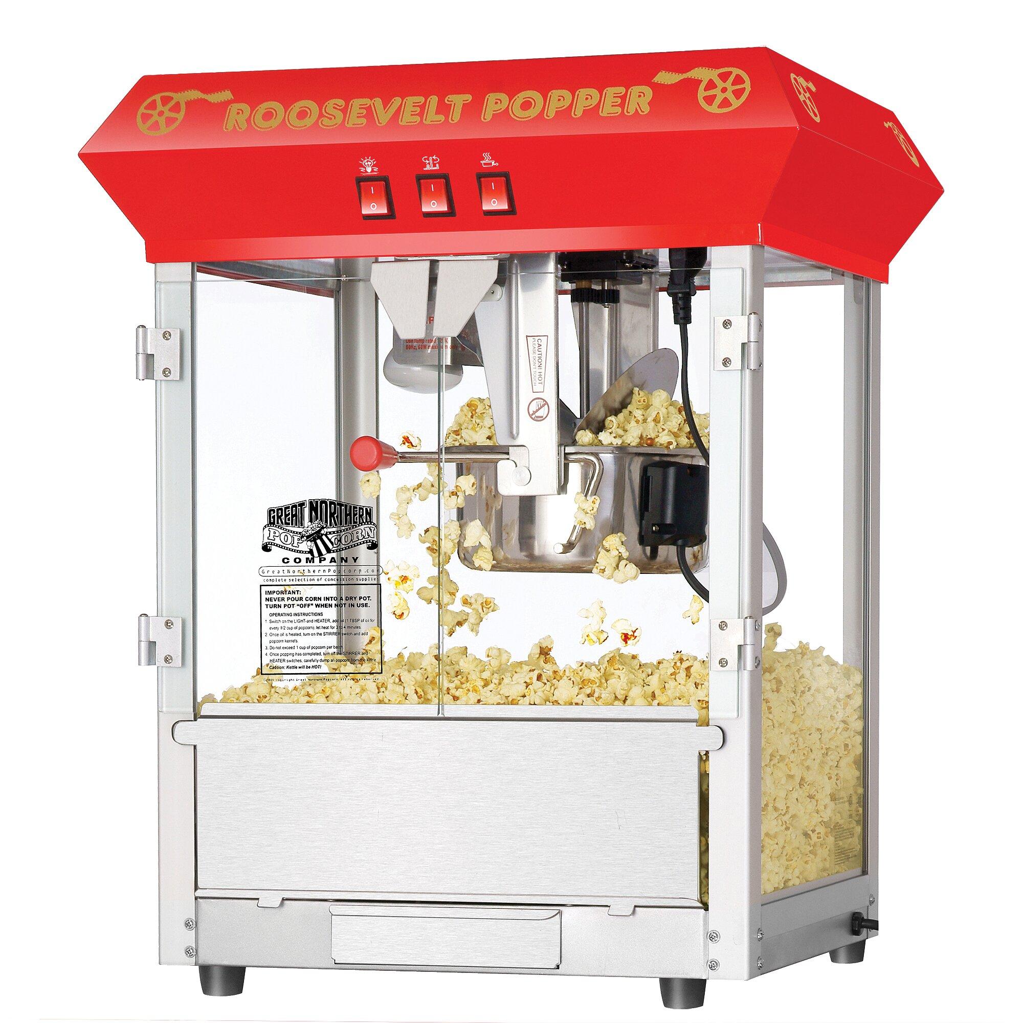 great northern 8 oz popcorn machine