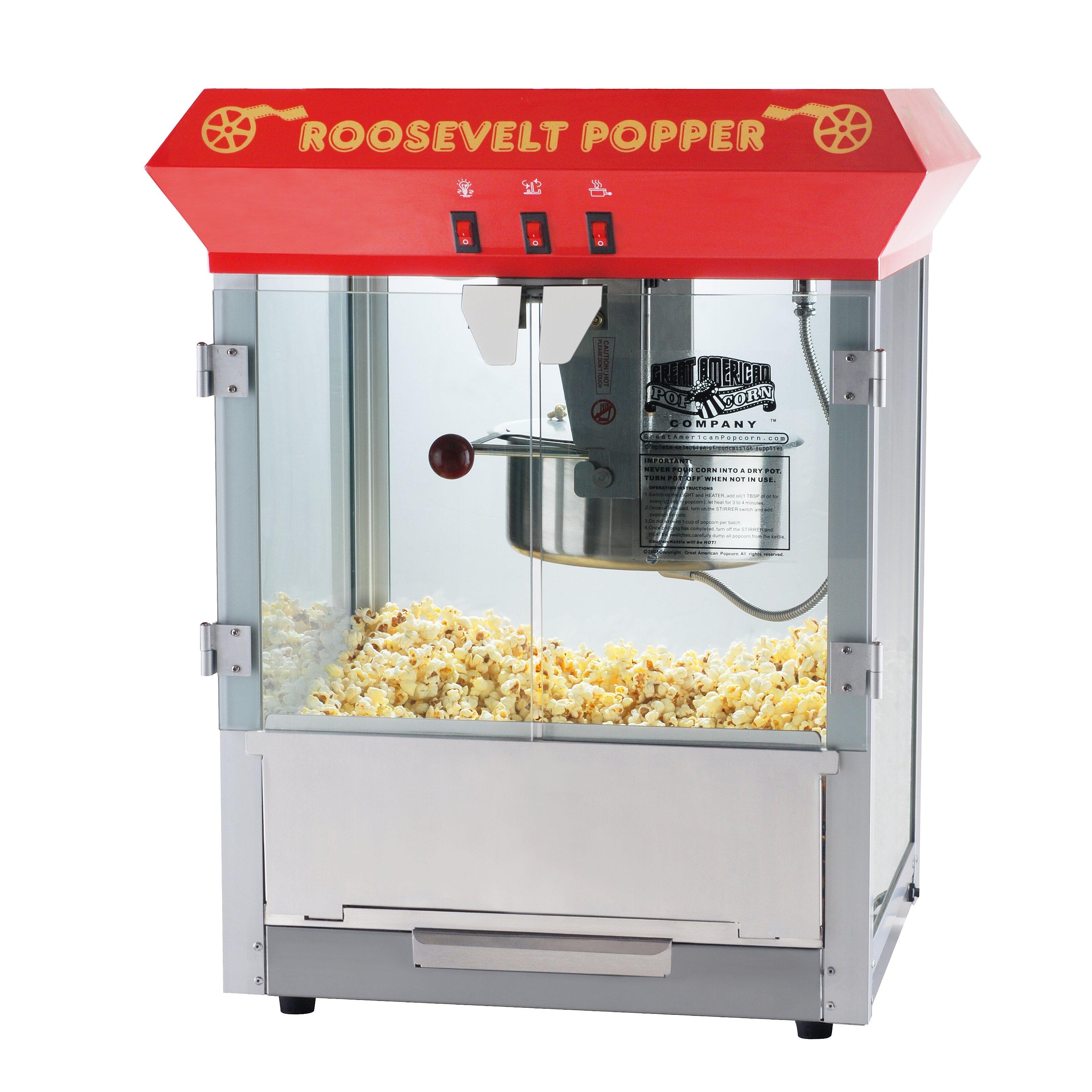 home popcorn machine reviews