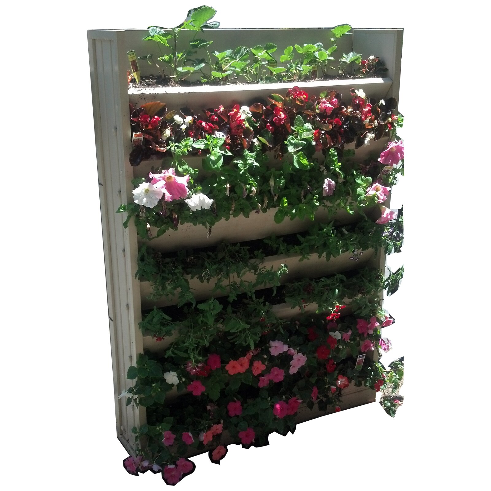 New age garden ecoflex wall mounted planter reviews - Wall mounted planters outdoor ...