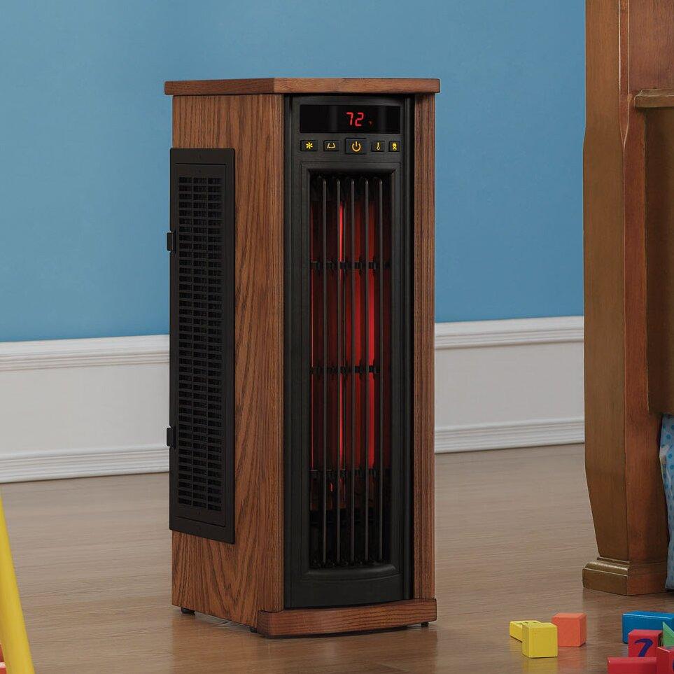 Duraflame 1,500 Watt Portable Electric Infrared Tower Heater & Reviews