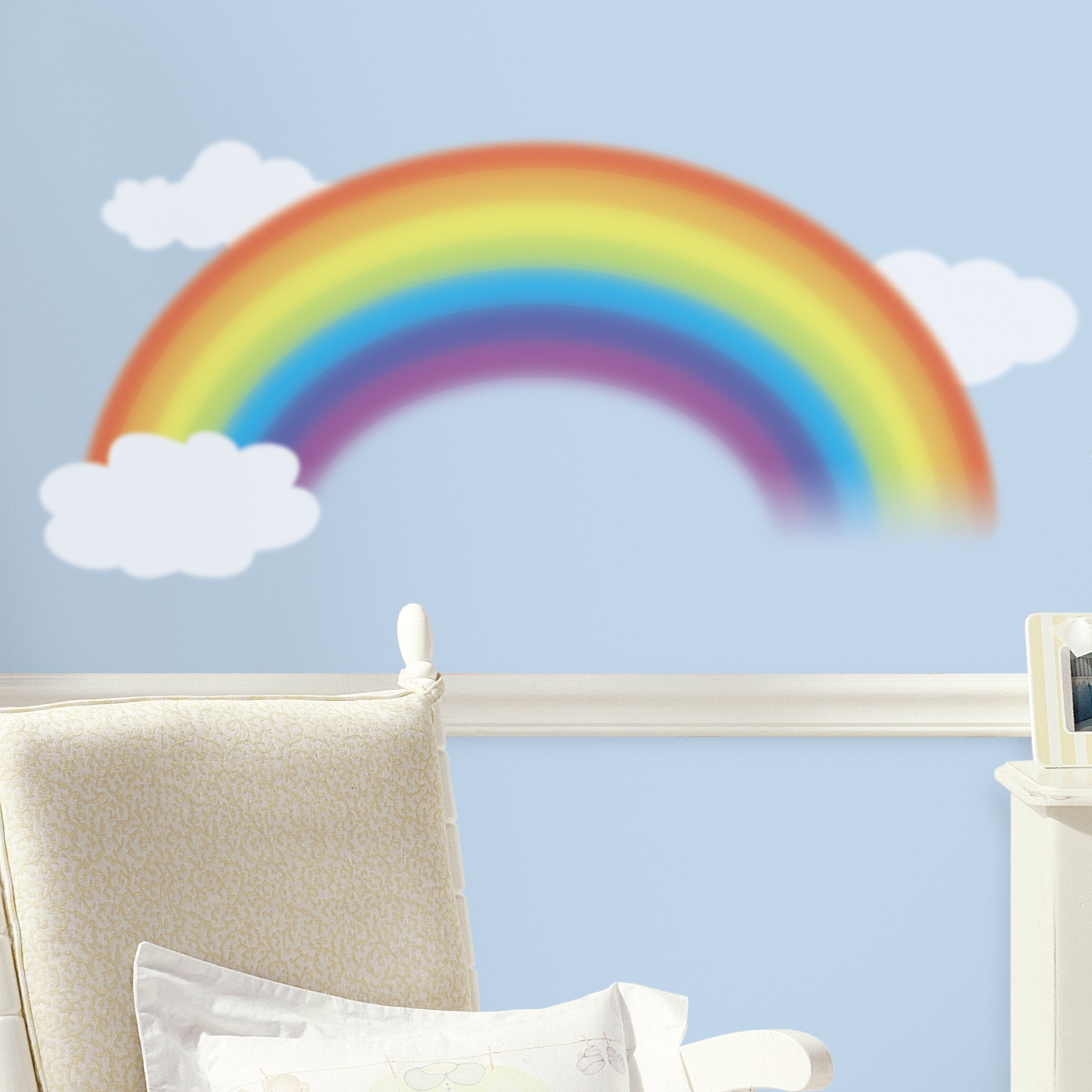 Room Mates Room Mates Deco Over The Rainbow Wall Decal
