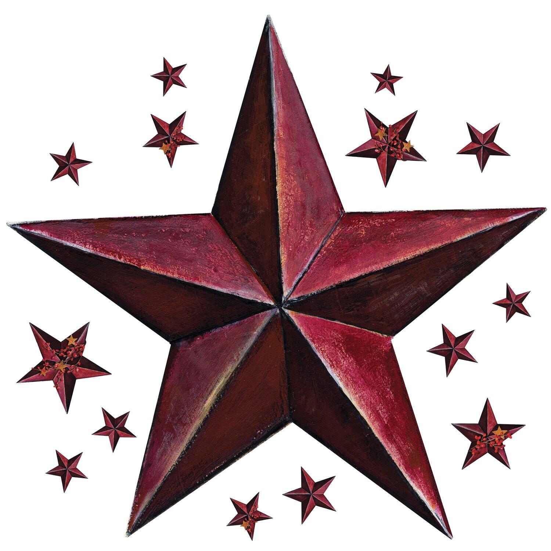 Barn Star Kitchen Decor