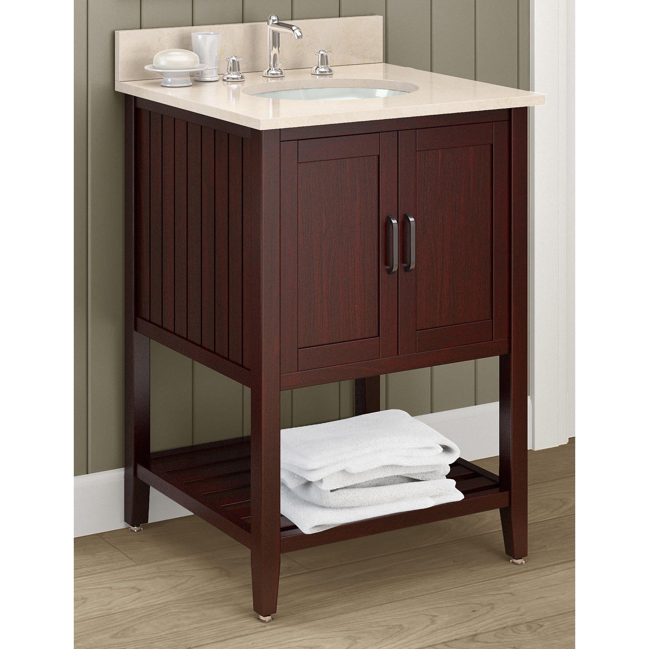 alaterre bennett 24 bath vanity wayfair. Black Bedroom Furniture Sets. Home Design Ideas