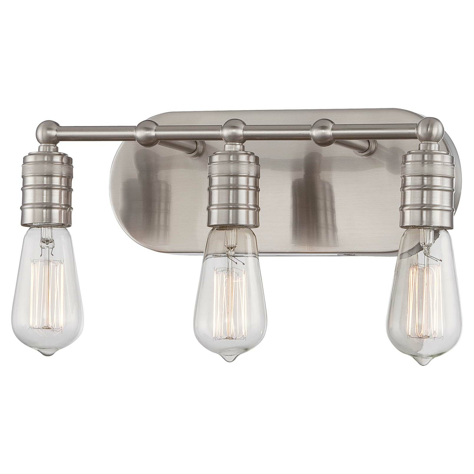 Minka Lavery Downtown Edison 3 Light Vanity Light Reviews Wayfair