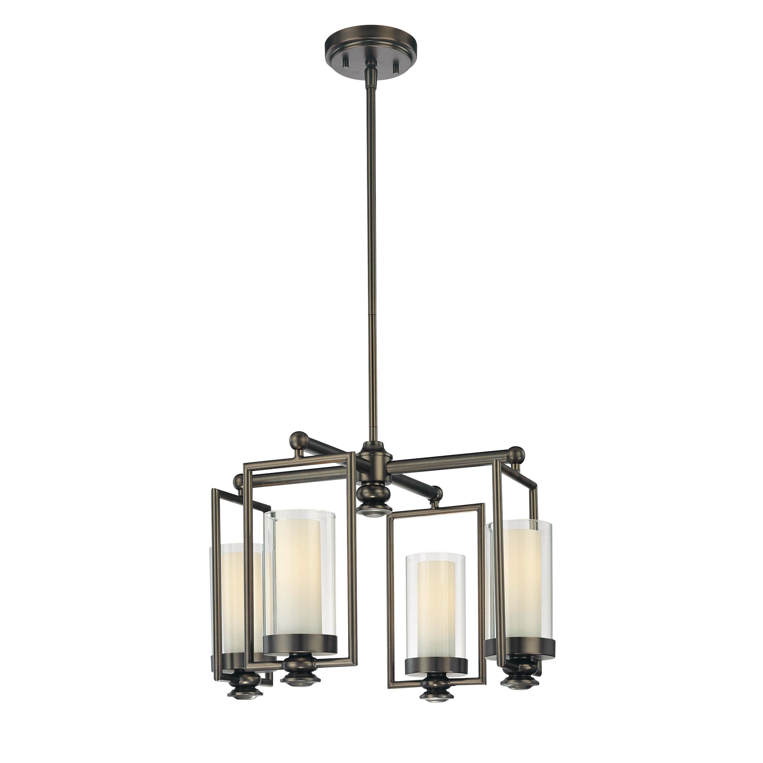 Minka Lavery Harvard Court 4 Light Mini Chandelier Reviews Wayfair