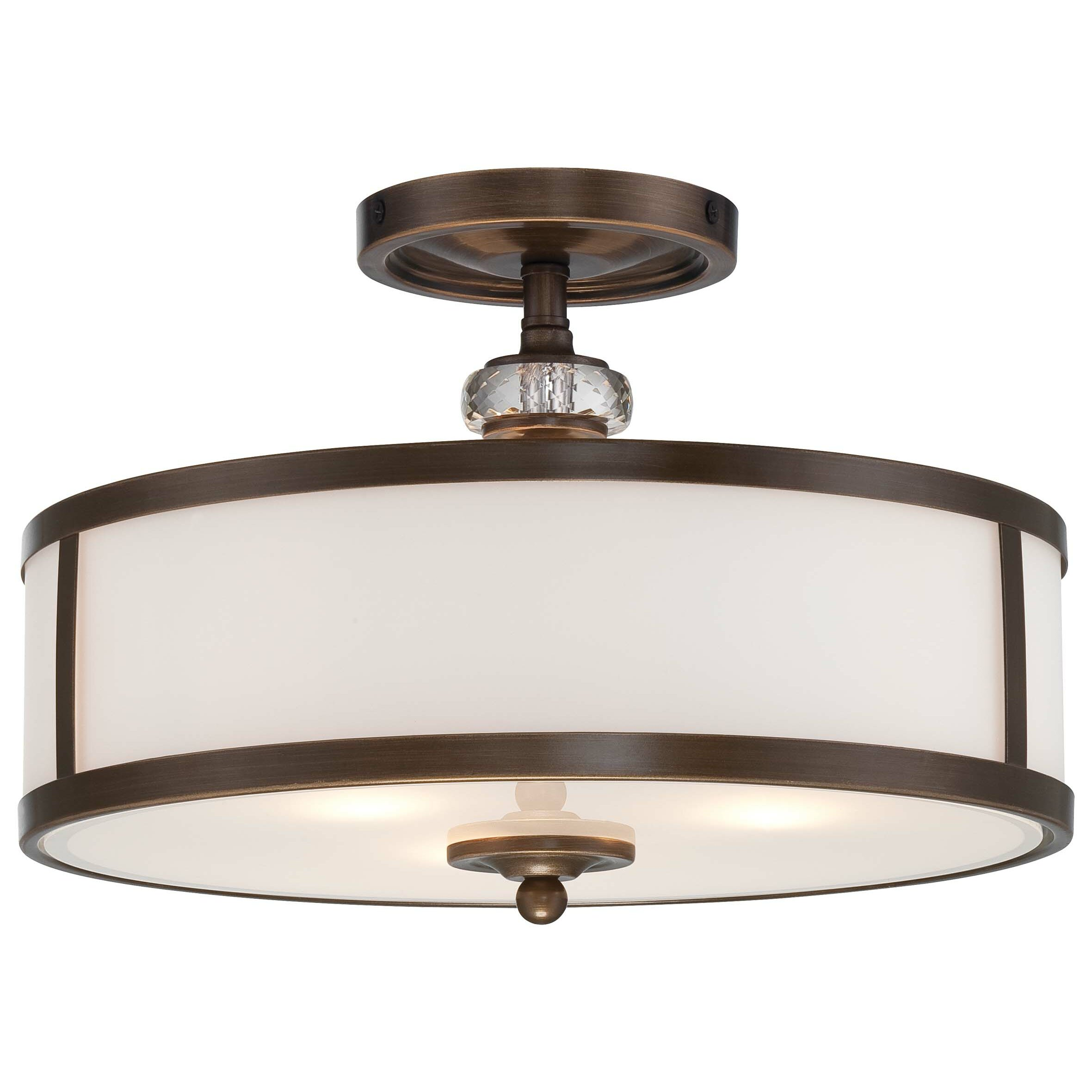 Minka Lavery Thorndale 3 Light Semi Flush Mount Reviews Wayfair