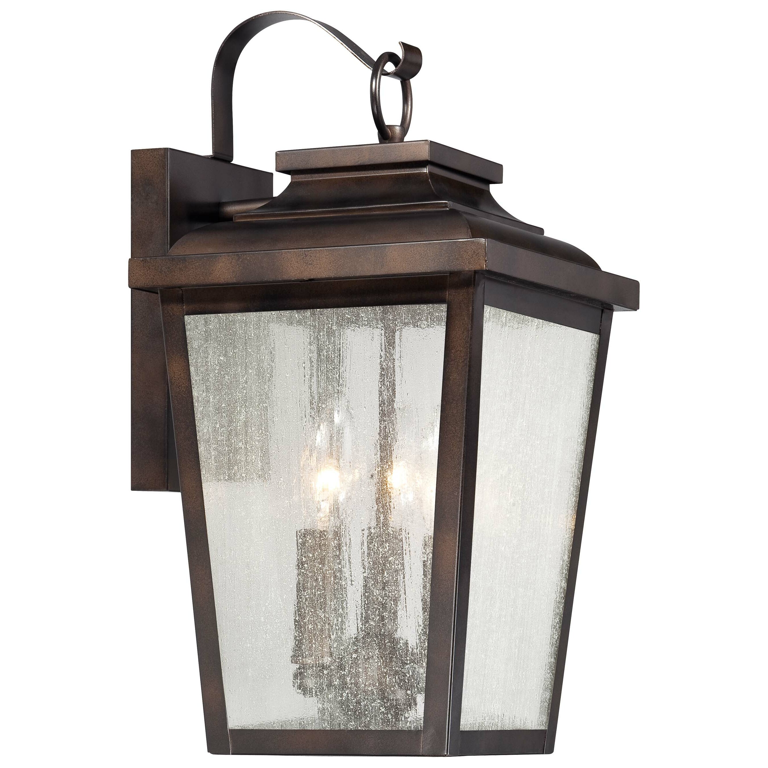 Minka Lavery Irvington Manor 3 Light Outdoor Wall Lantern Reviews Way