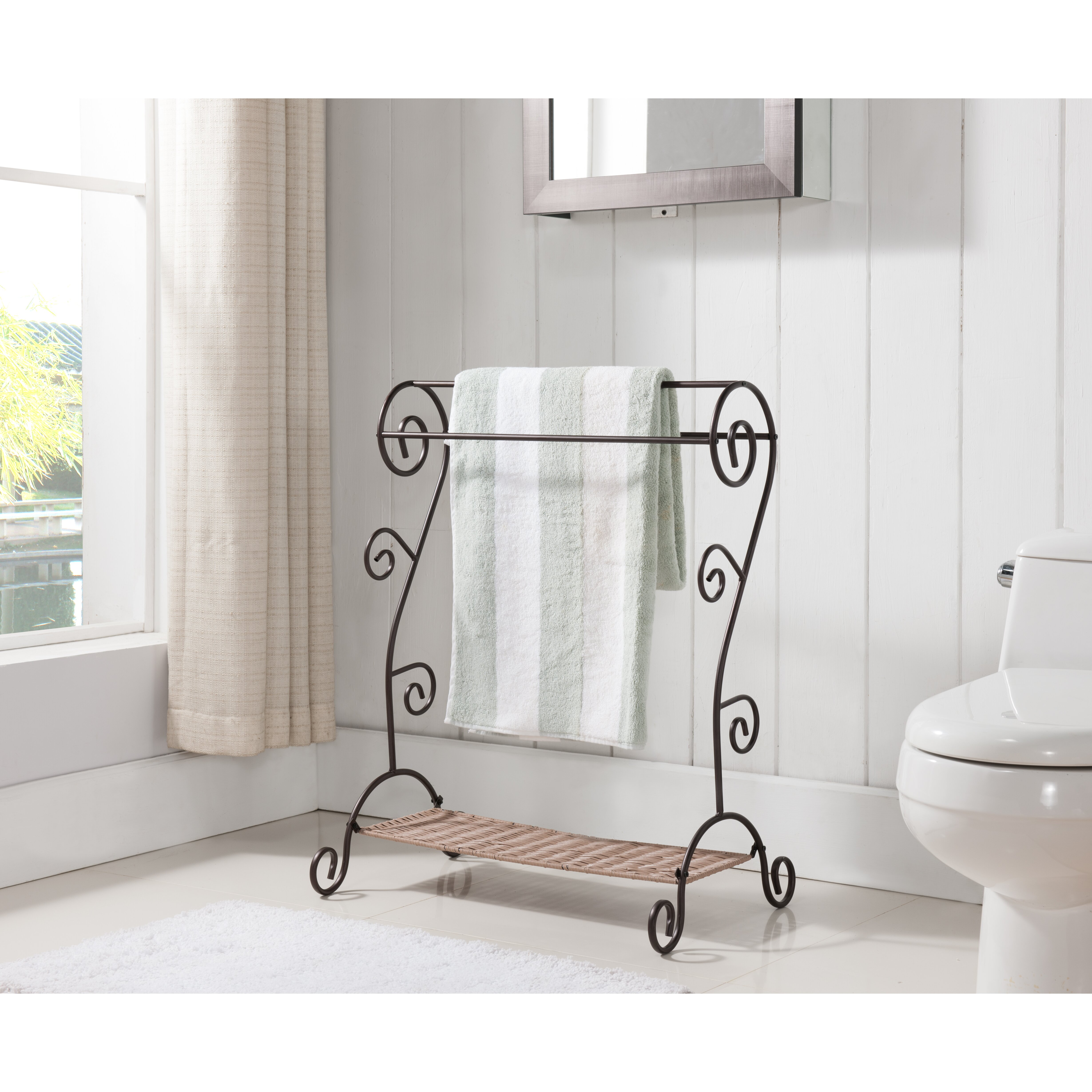 Inroom designs towel rack wayfair In room designs