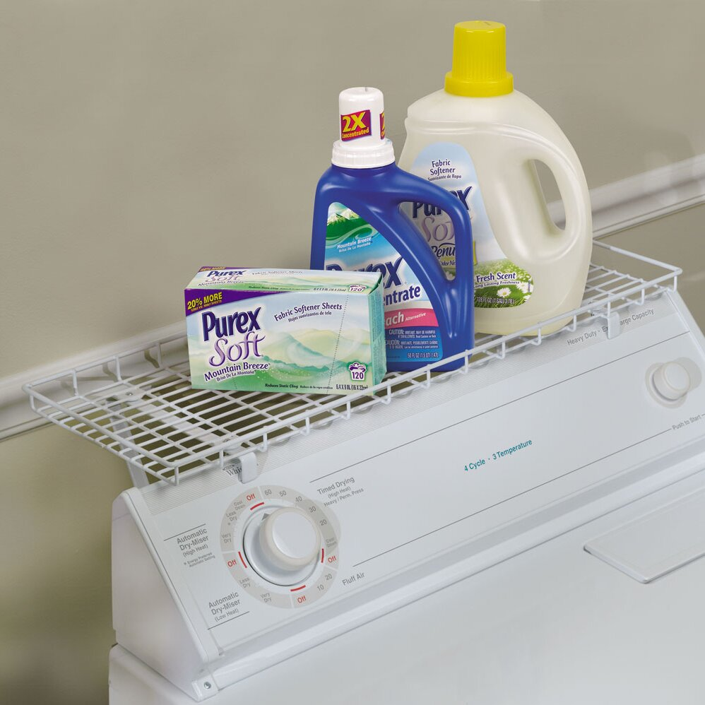 Household Essentials Over The Washer Laundry Room