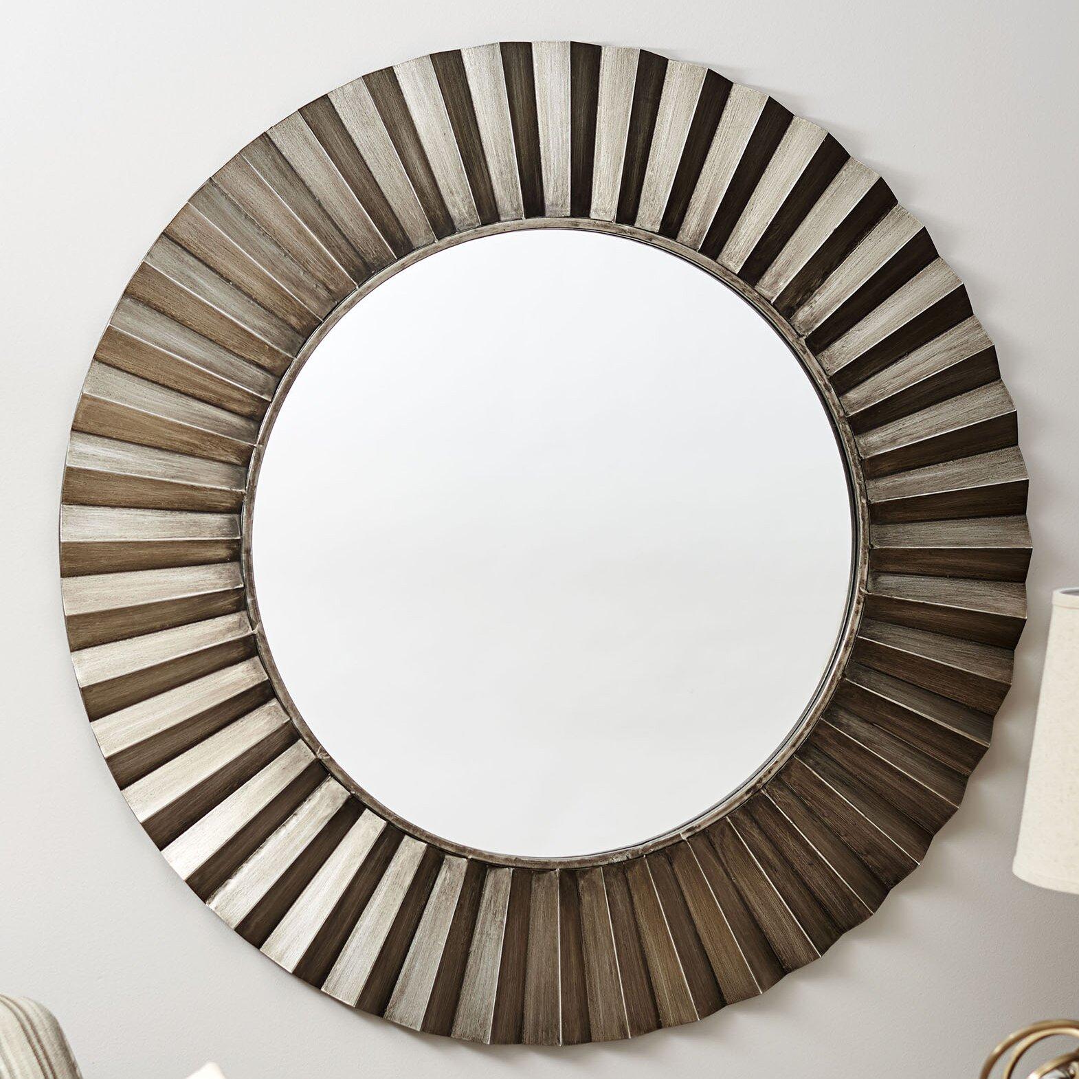 Household Essentials Sunburst Wall Mirror & Reviews | Wayfair