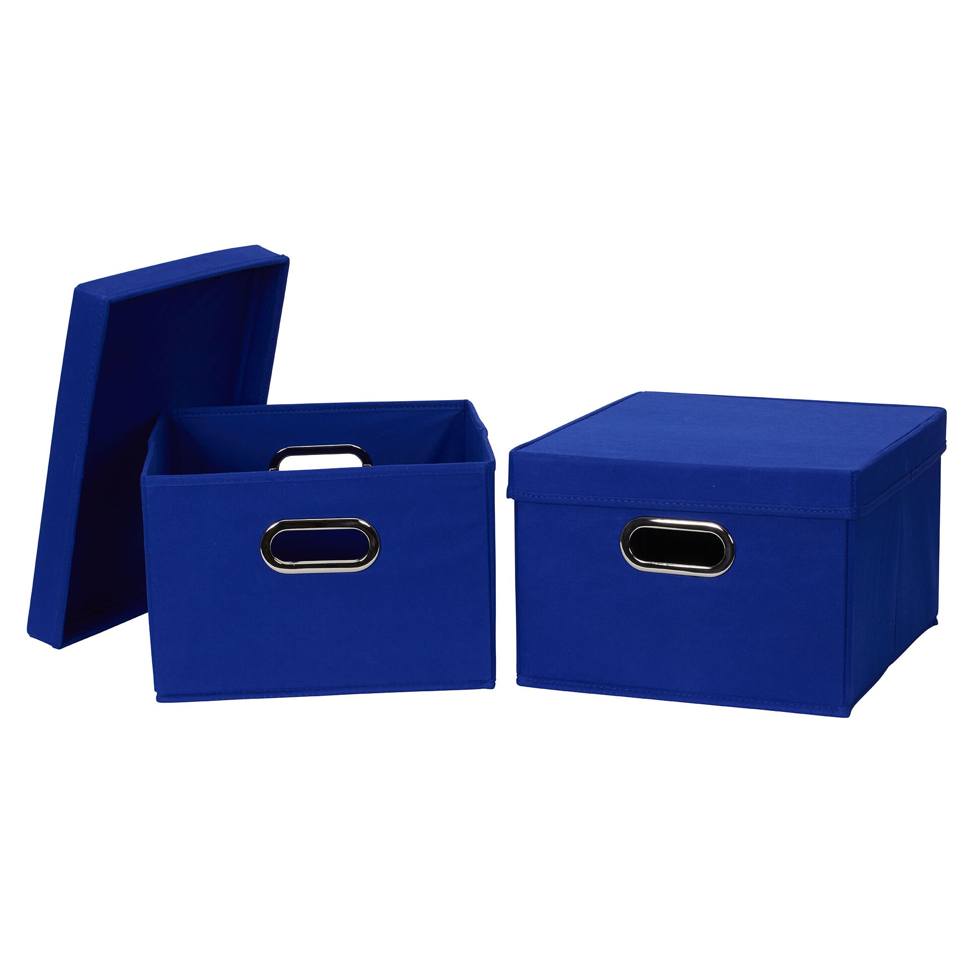 Household Essentials Collapsible Fabric Storage Box with