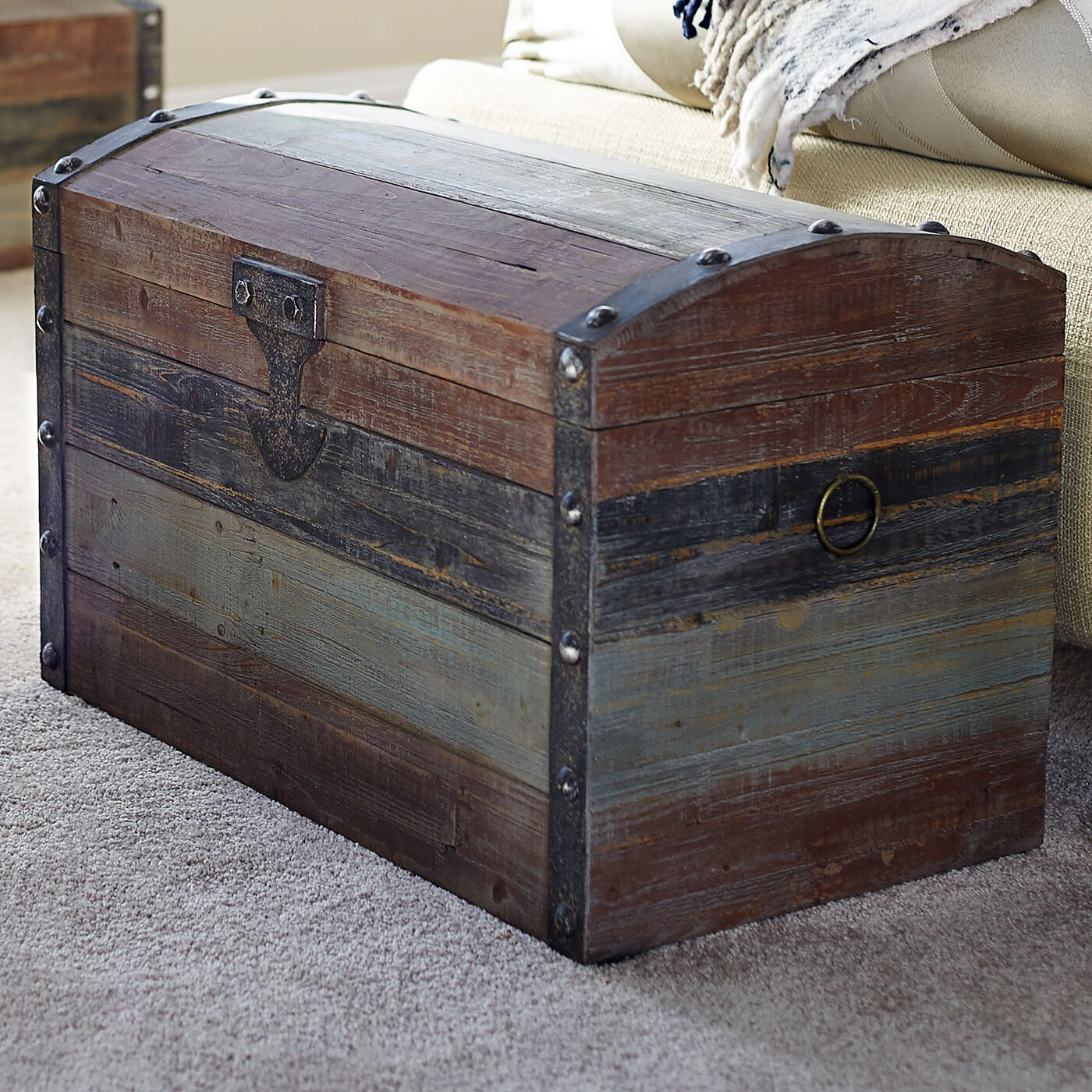 Make storage simple and stylish with the Sterling Industries Kurman Wood Chest. This handy and striking chest includes 2 drawers and 2 cabinets that provide plenty of storage space. This is a great way to store silverware, photos, toys, and more.