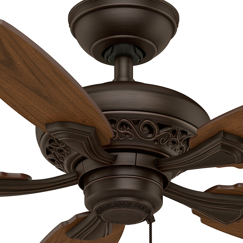 "Casablanca Fan 44"" Fordham 5 Blade Ceiling Fan & Reviews"