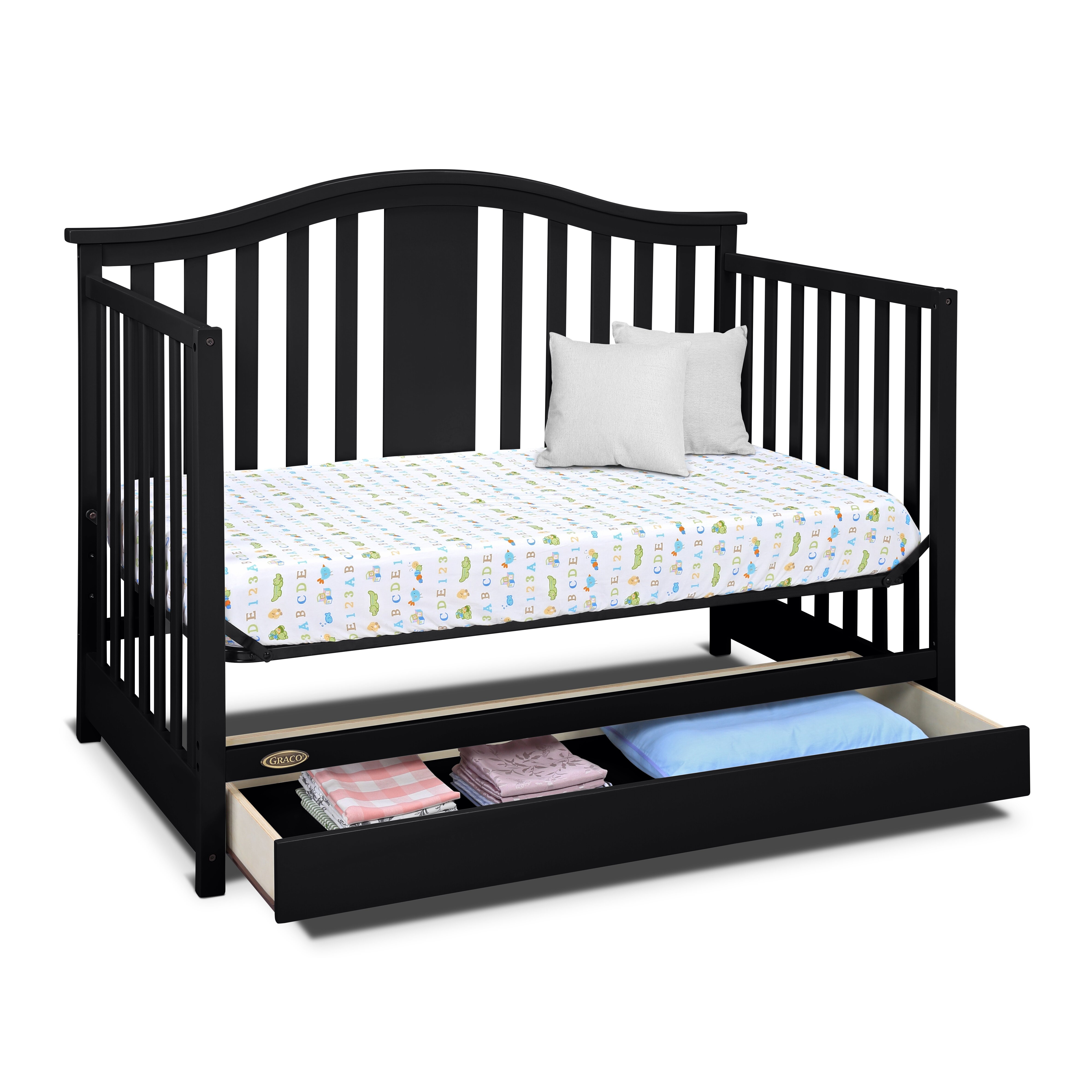 Graco Solano 4 In 1 Convertible Crib Wayfair